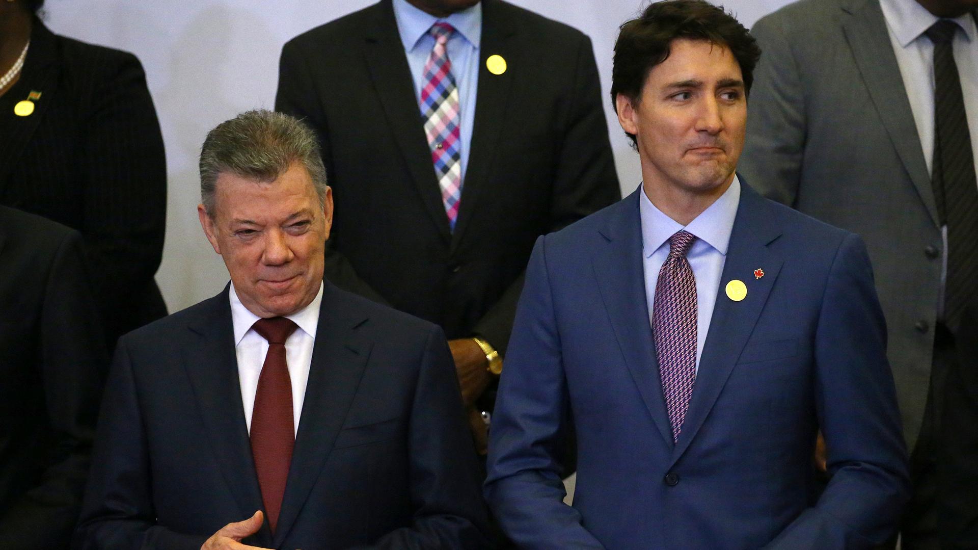 Justin Trudeau apoyó el bombardeo de EEUU, Reino Unido y Francia contra Siria(REUTERS)