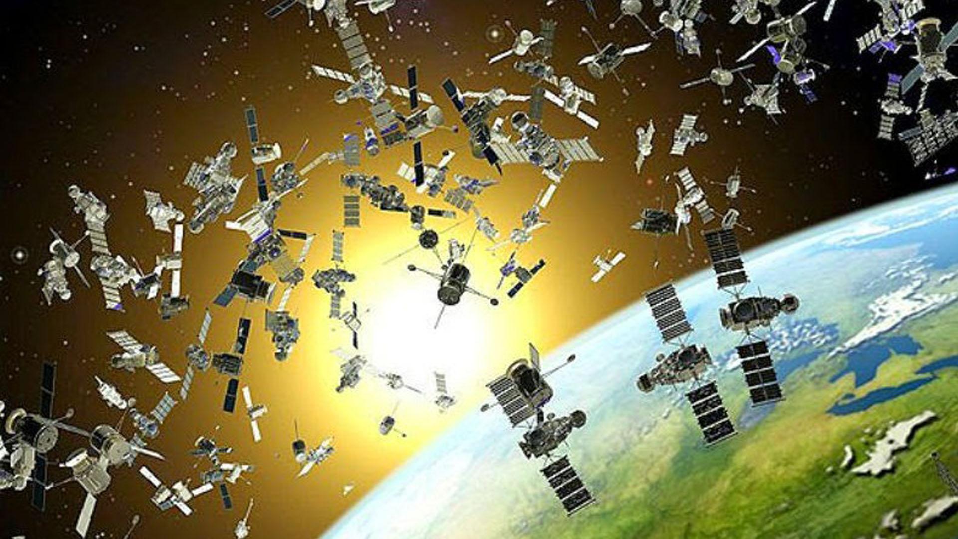 Desde 1957 la basura espacial nos rodea