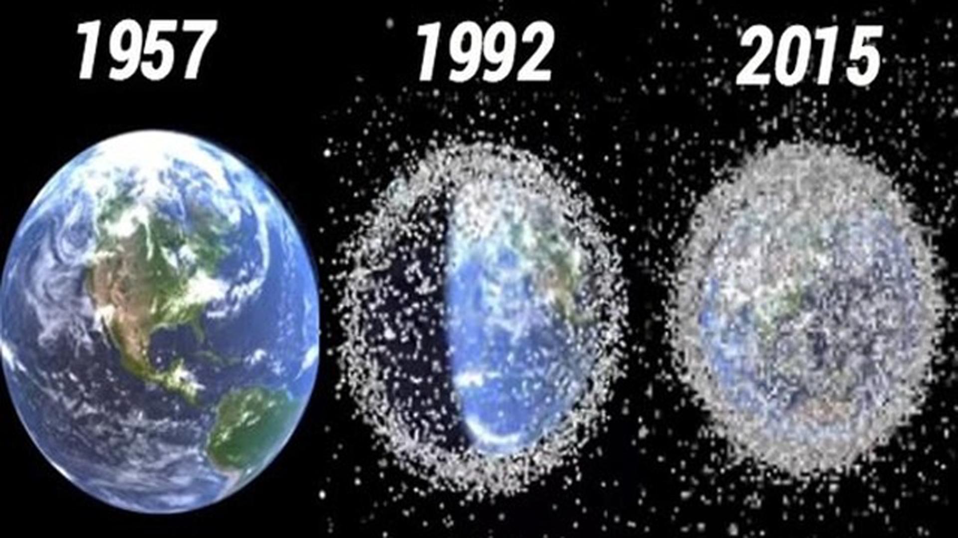 Año tras año, aumentan los objetos y generan colisiones
