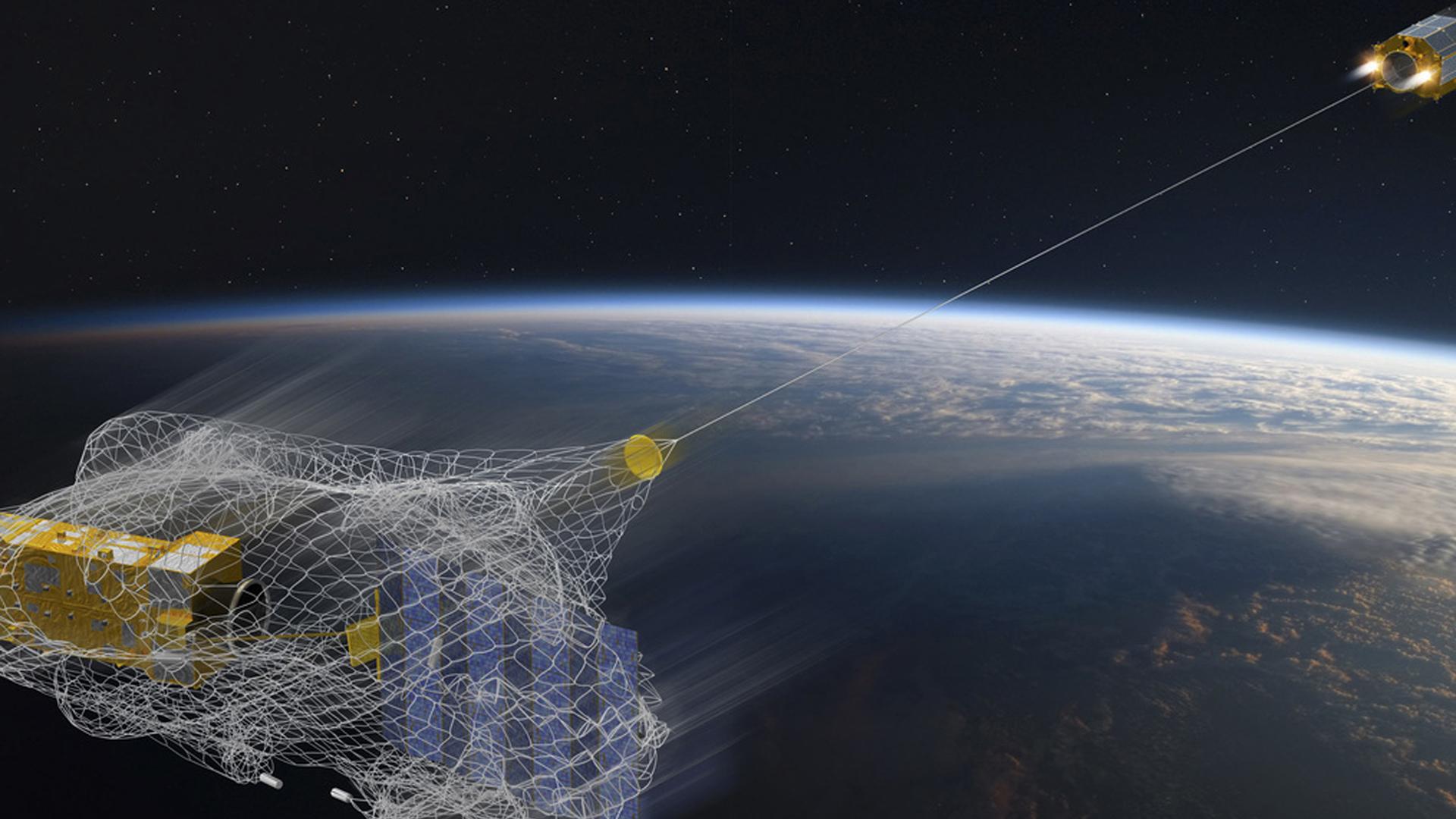 Existen proyectos para recuperar la chatarra espacial y limpiar el espacio