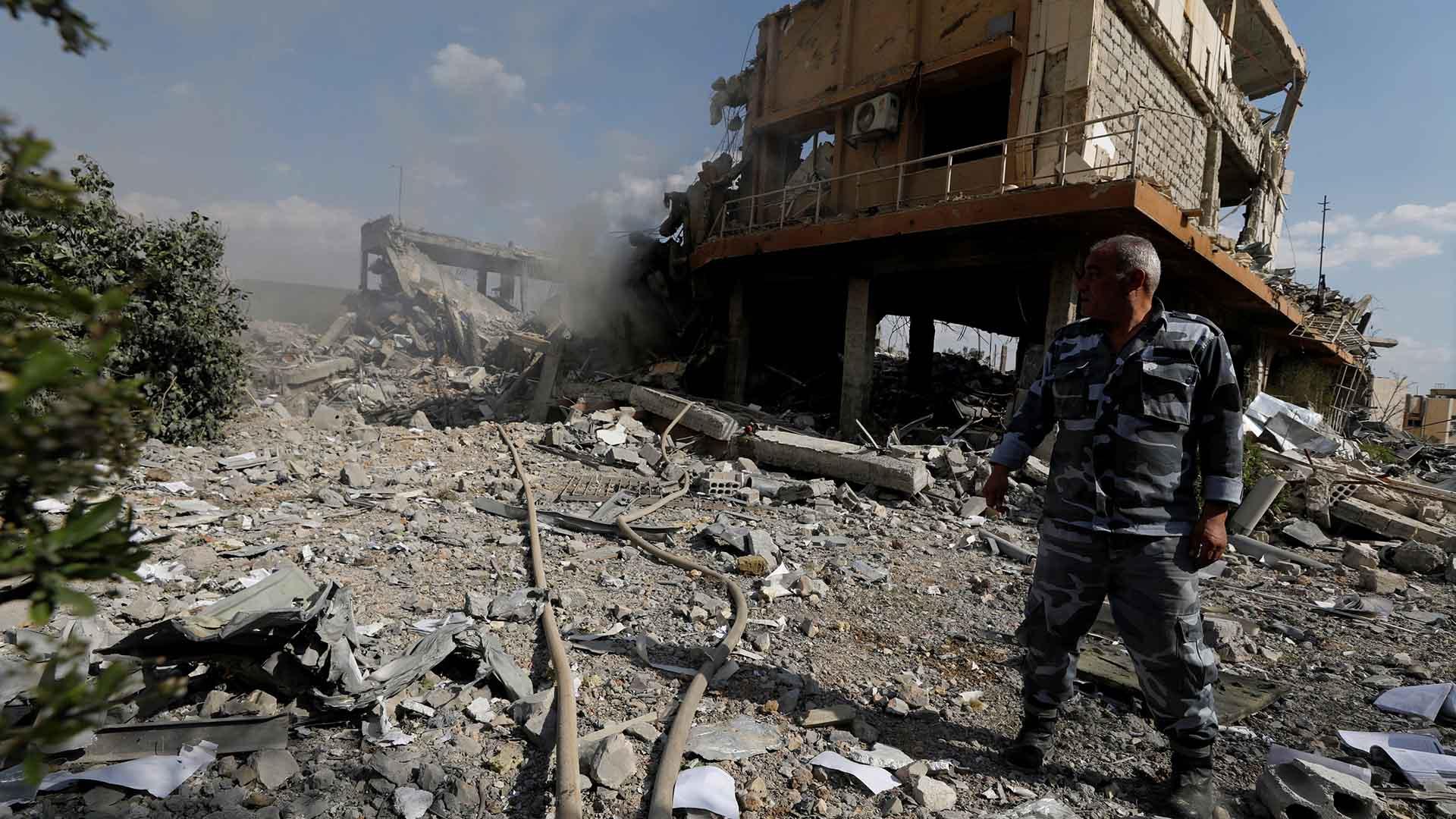 Una fuerte explosión se produjo en el norte de Siria(REUTERS)
