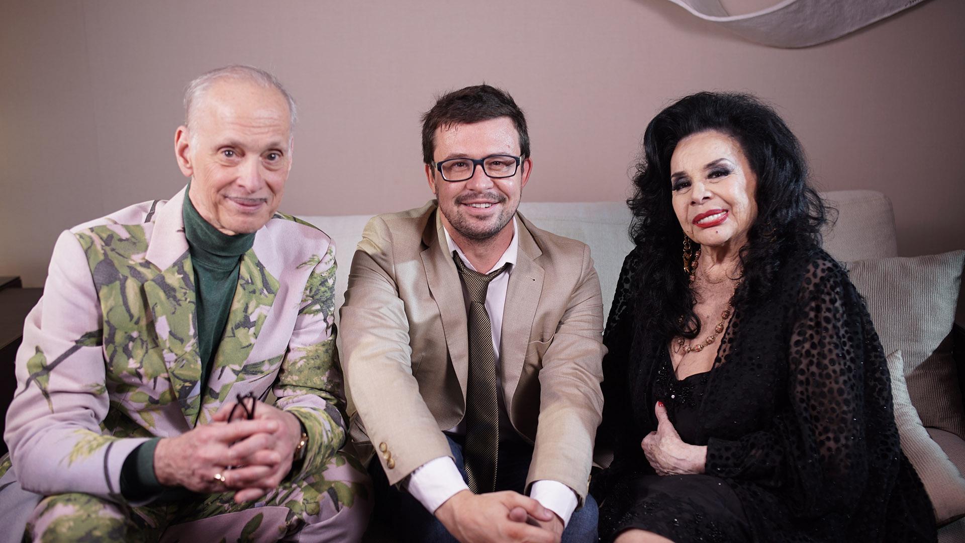 Javier Porta Fouz, director artístico del BAFICI, unió a Waters y Sarli en un encuentro único