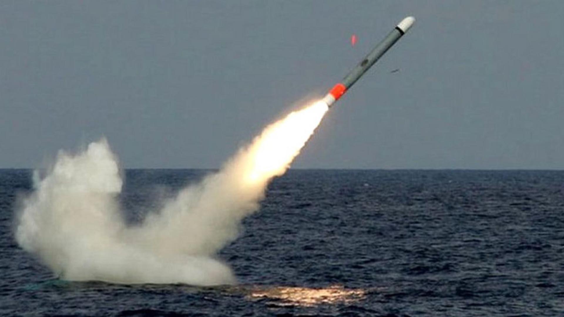 Los cruces norteamericano llevan misiles Tomahawk