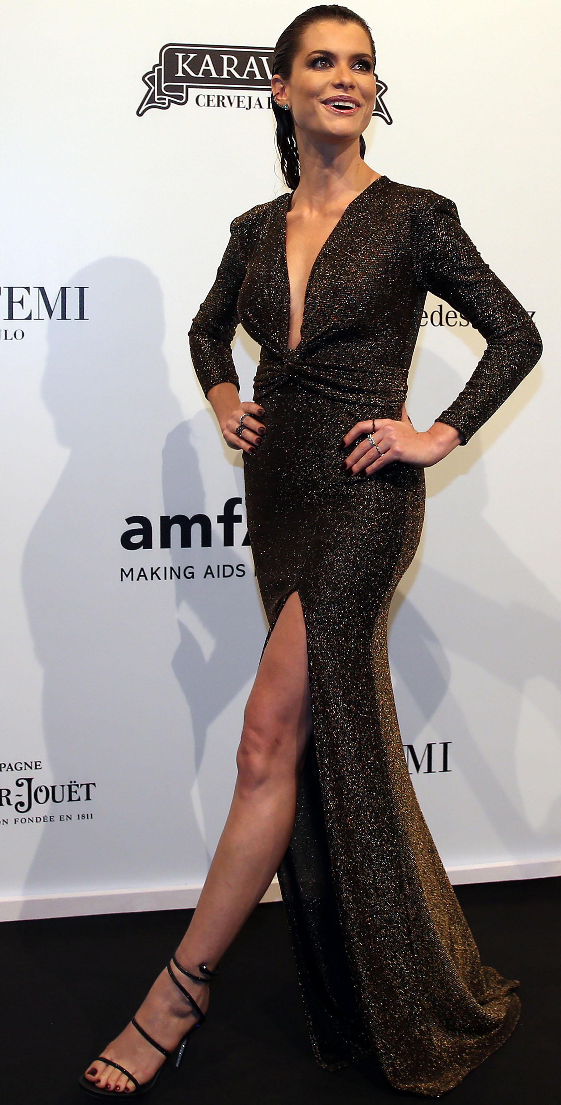 La mujer más elegante de la noche, la actriz Alinne Moraes