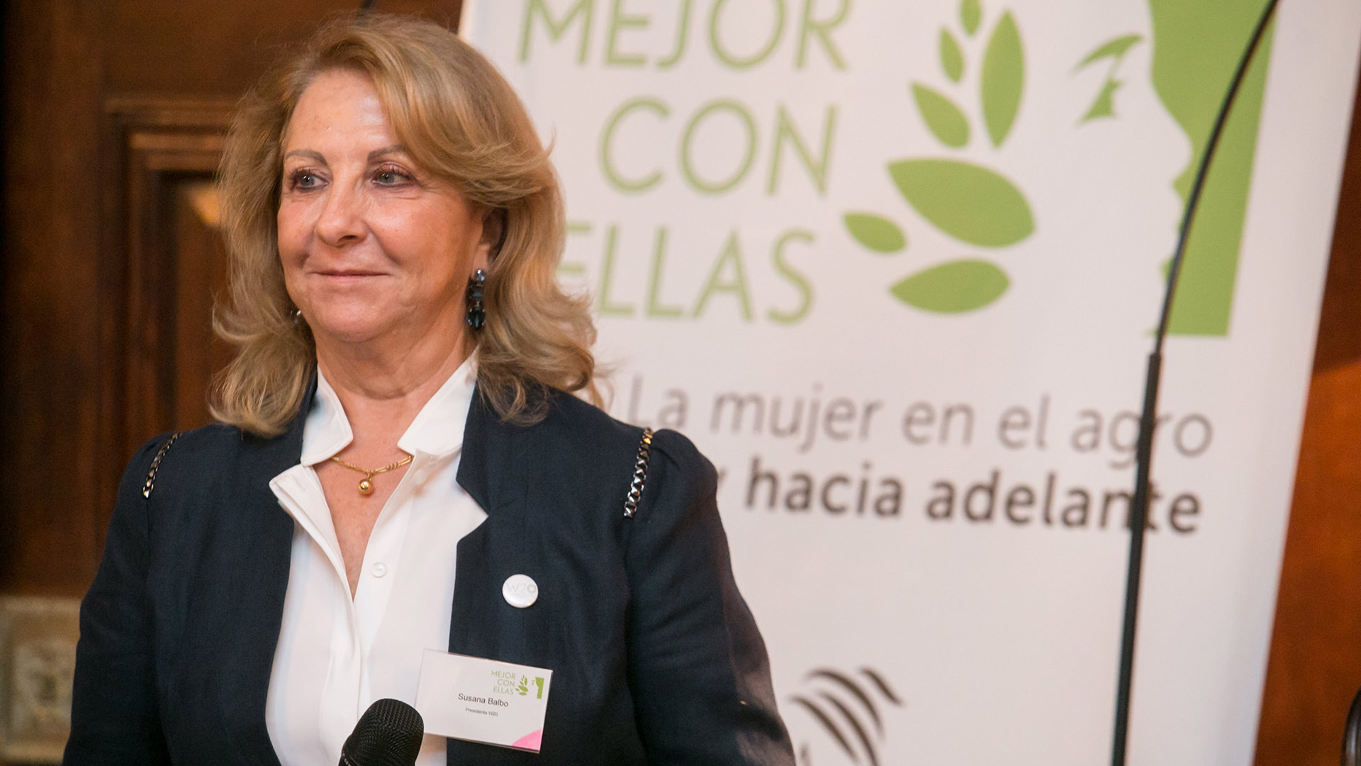 Susana Balbo, chair de Woman 20