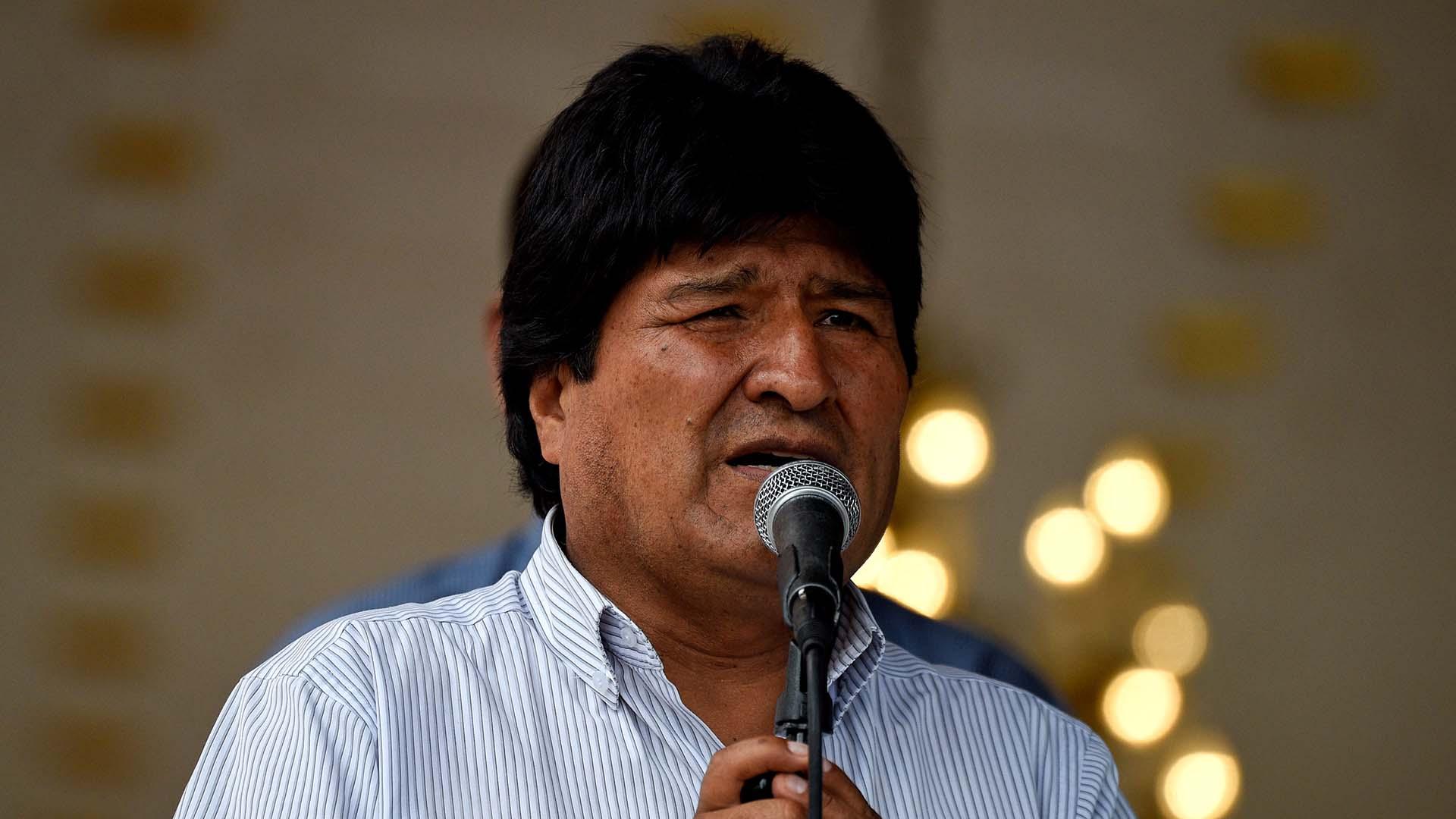 Evo Morales, uno de los principales aliados del régimen venezolano (AFP)