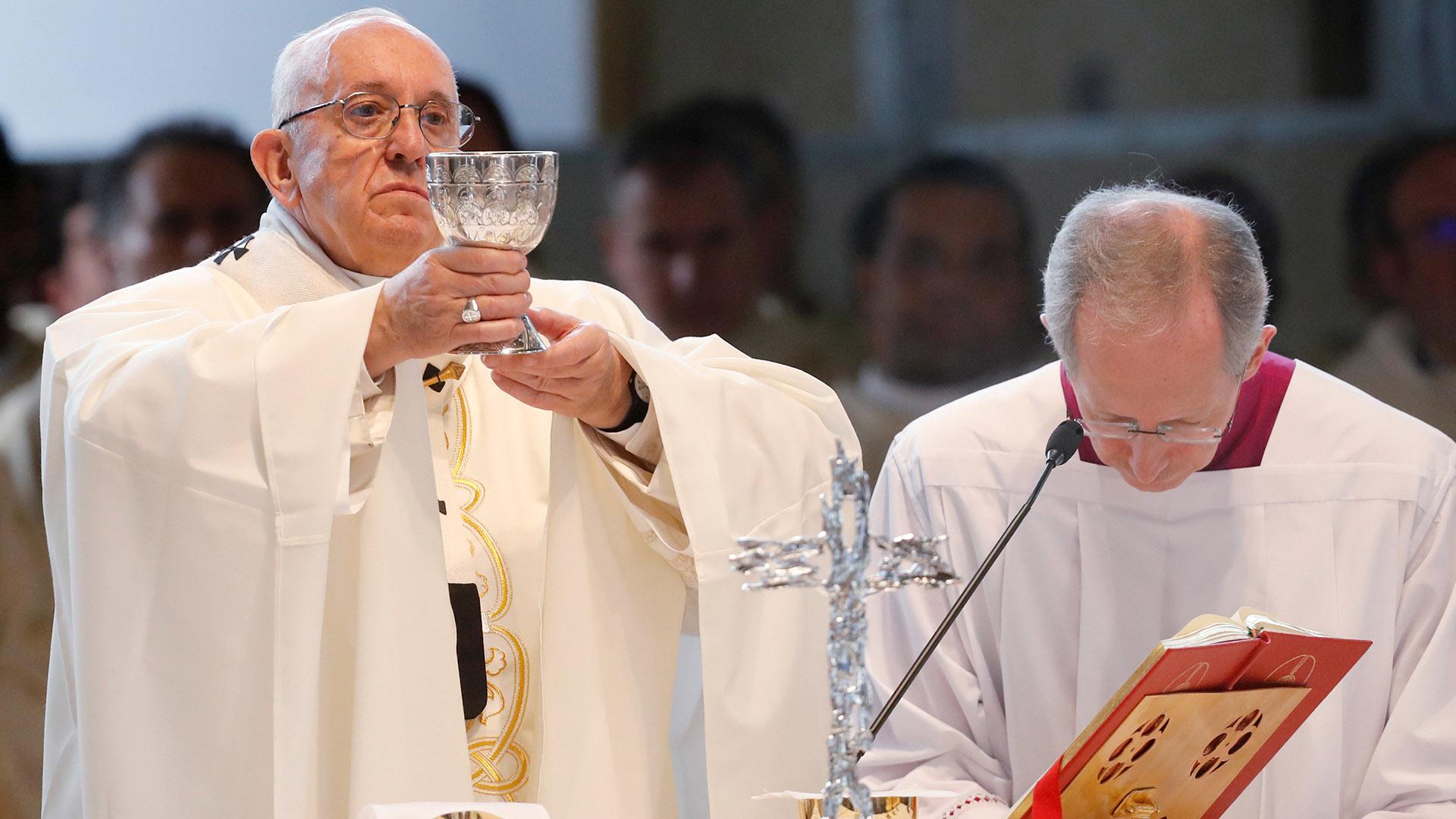El Papa aseguró que reza por la paz en Siria (REUTERS)