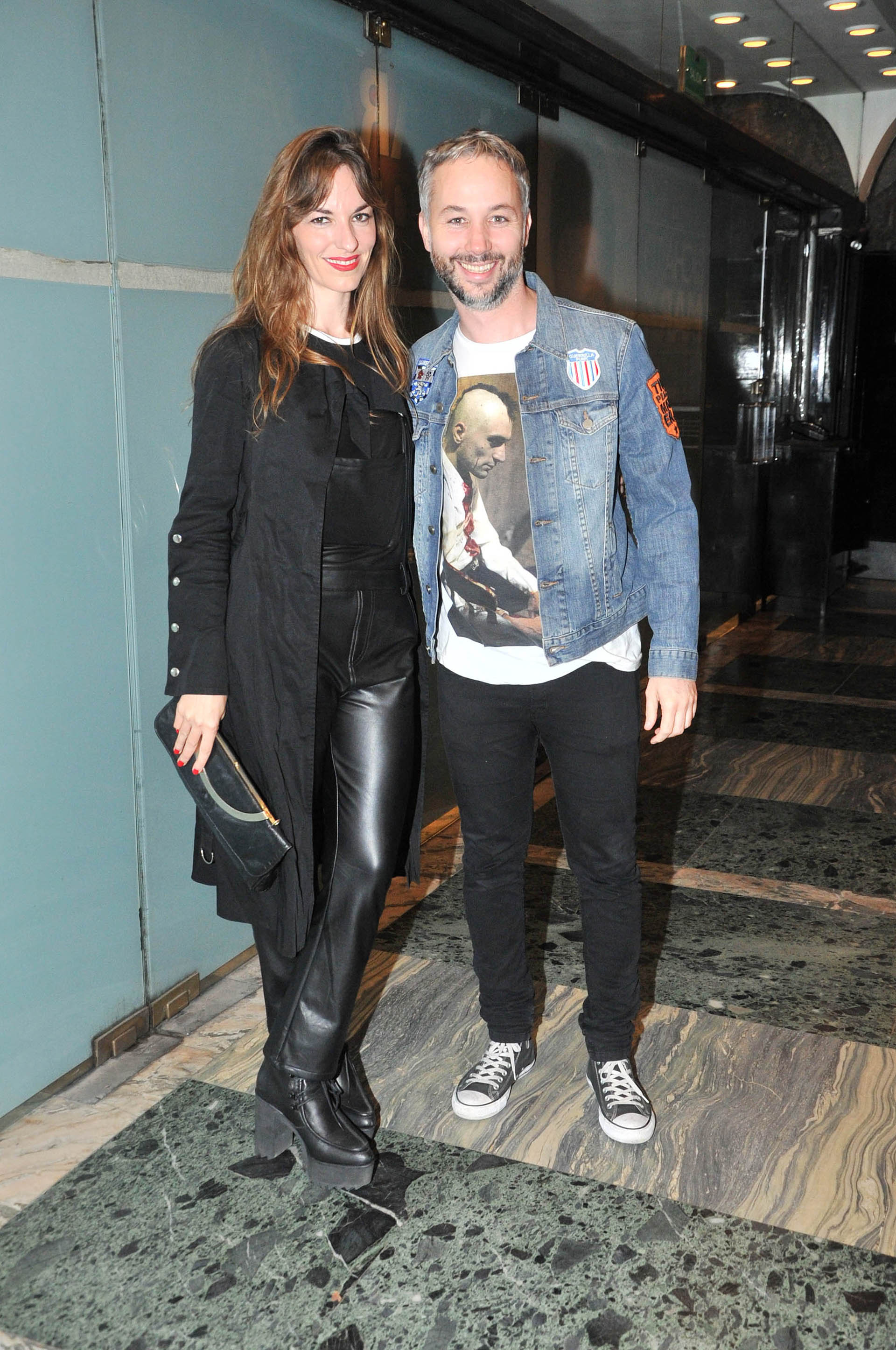 Erika Halvorsen y Diego Iglesias