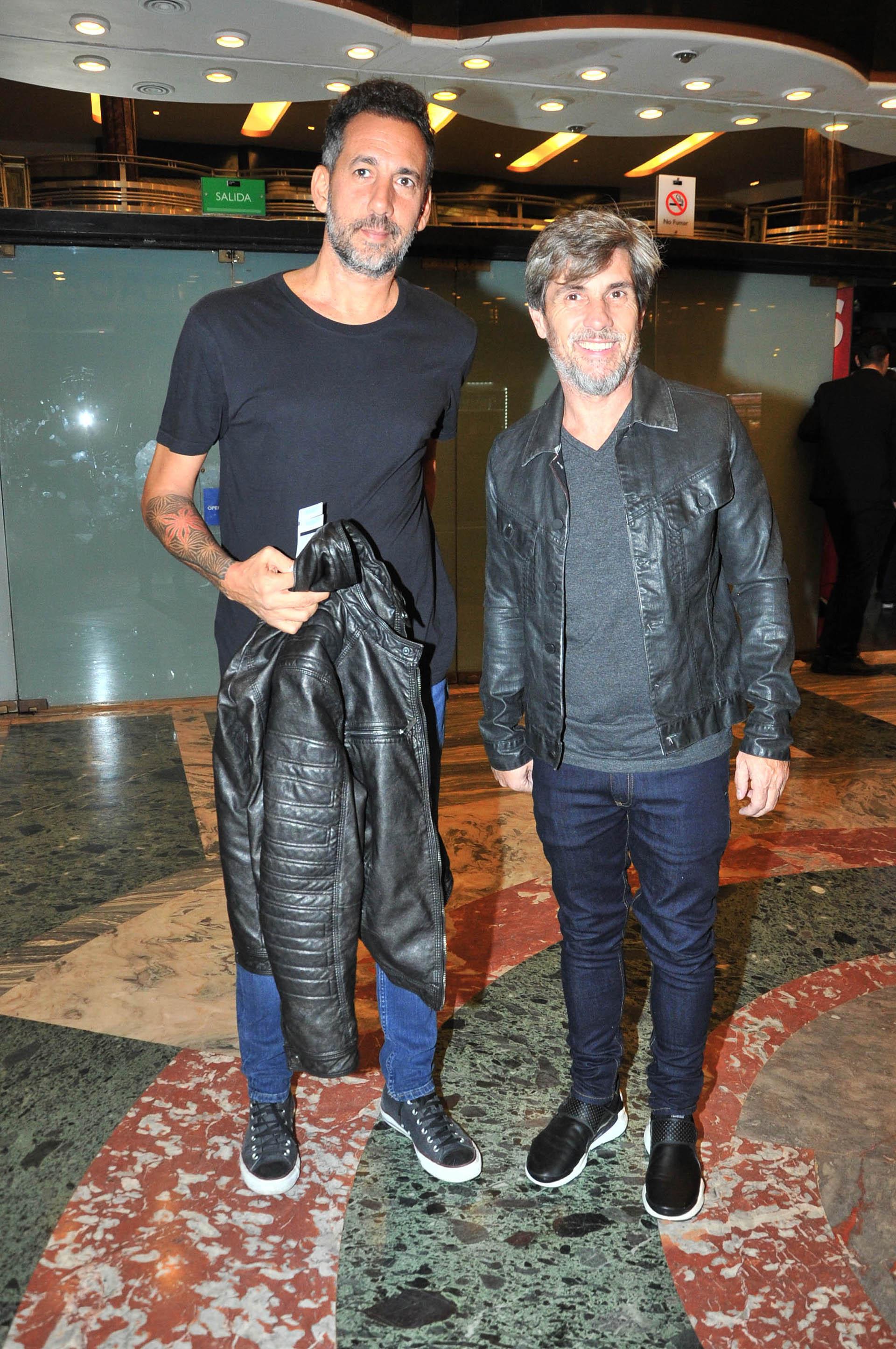 Ezequiel Corbo y el Chato Prada