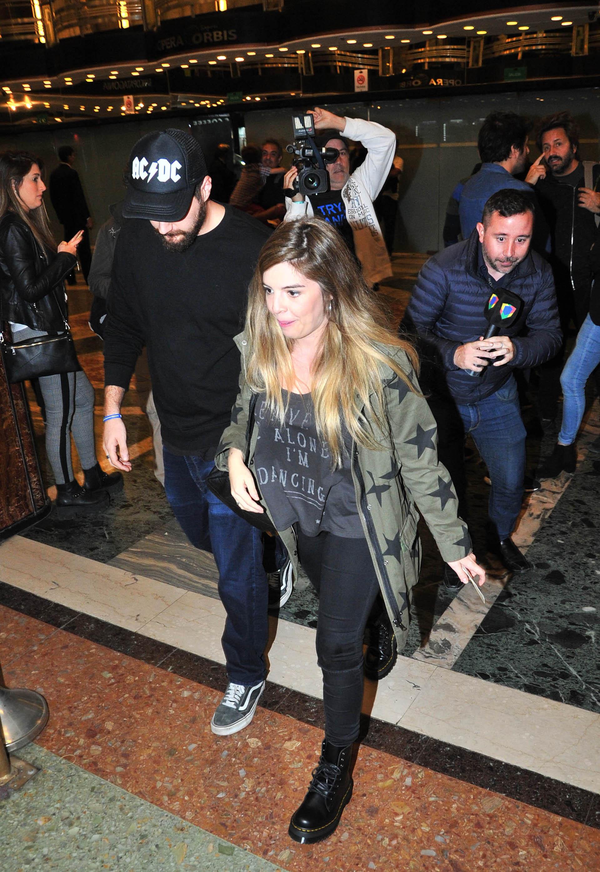 Dalma Maradona y Andrés Caldarelli, por primera vez juntos en público desde su casamiento