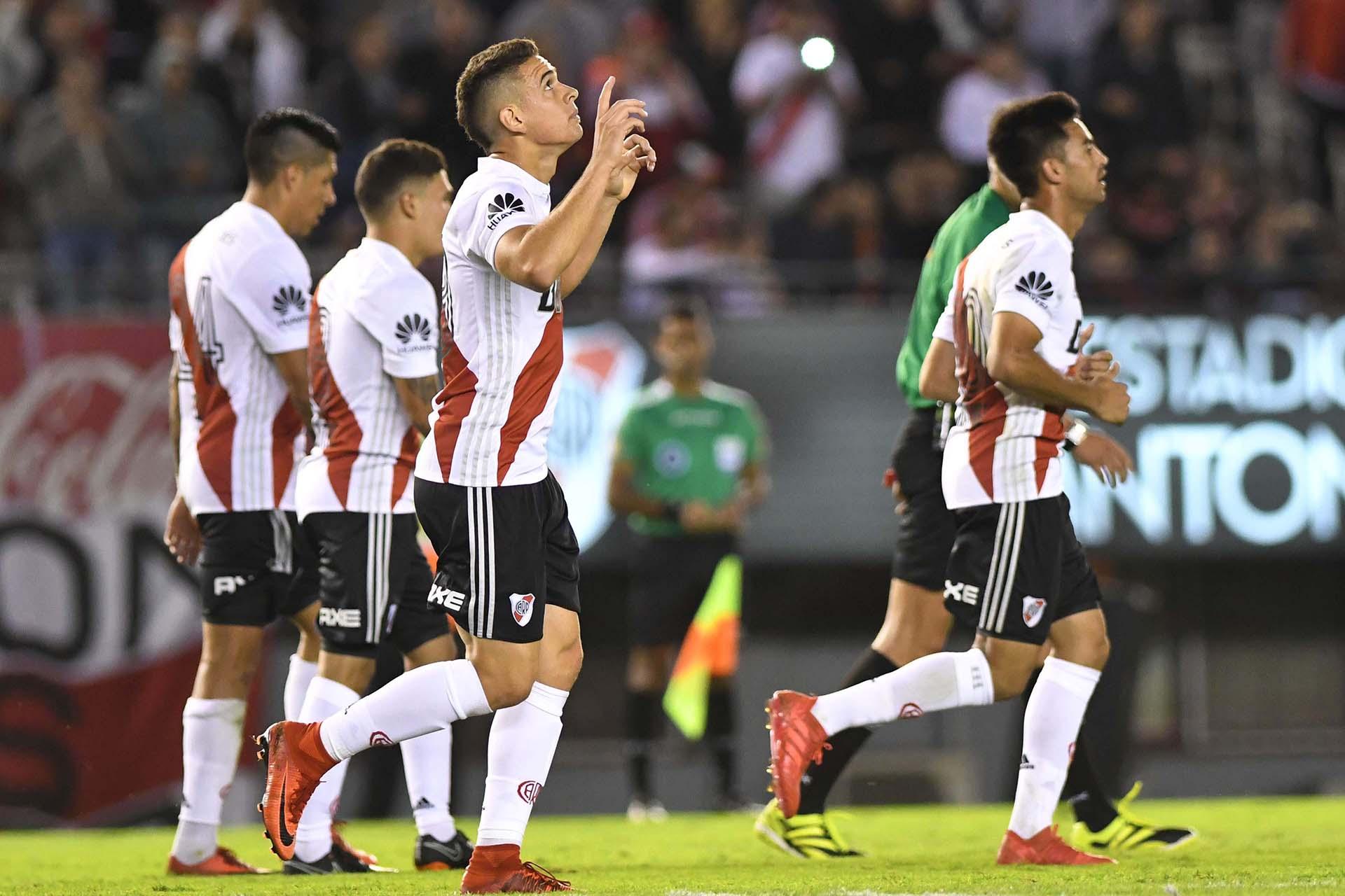 River Plate y Rosario Central jugaron en el estadio Monumental, por la 23ra. fecha de la Superliga. (Foto: Télam)