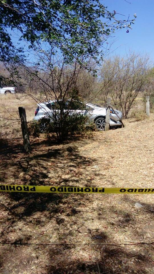 El auto de Juan Carlos Andrade