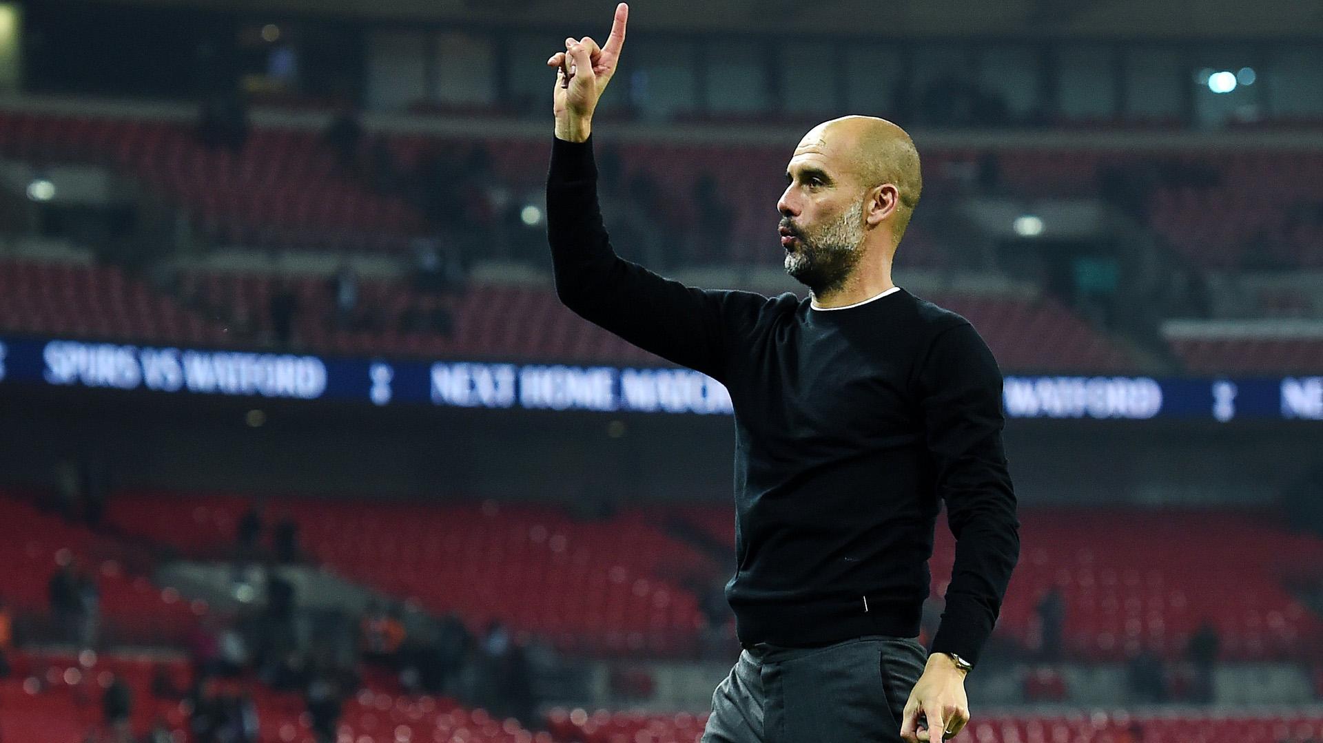 Josep Guardiola es muy respetado por todos los jugadores que dirigió (EFE/EPA/ANDY RAIN)