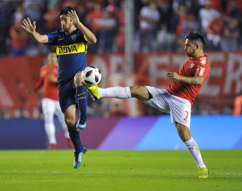 Independiente le ganó 1 a 0 a Boca Juniors, por la 23ra. fecha de la Superliga (Télam)