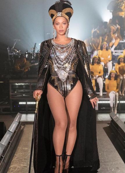 Beyonce se convirtió en la primer mujer negra en ser convocada como artista principal del Festival de Coachella (Instagram: Beyonce)