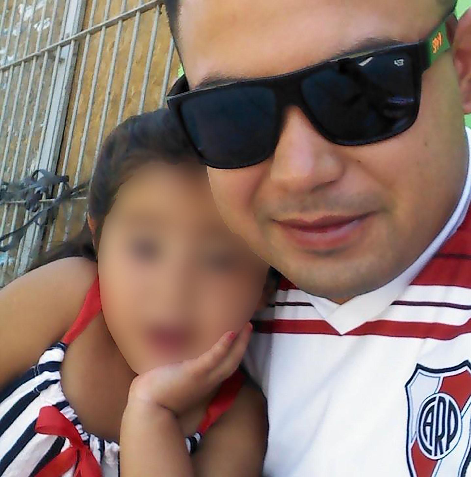 Según los allegados, Leandro Alcaraz se desvivía por su familia