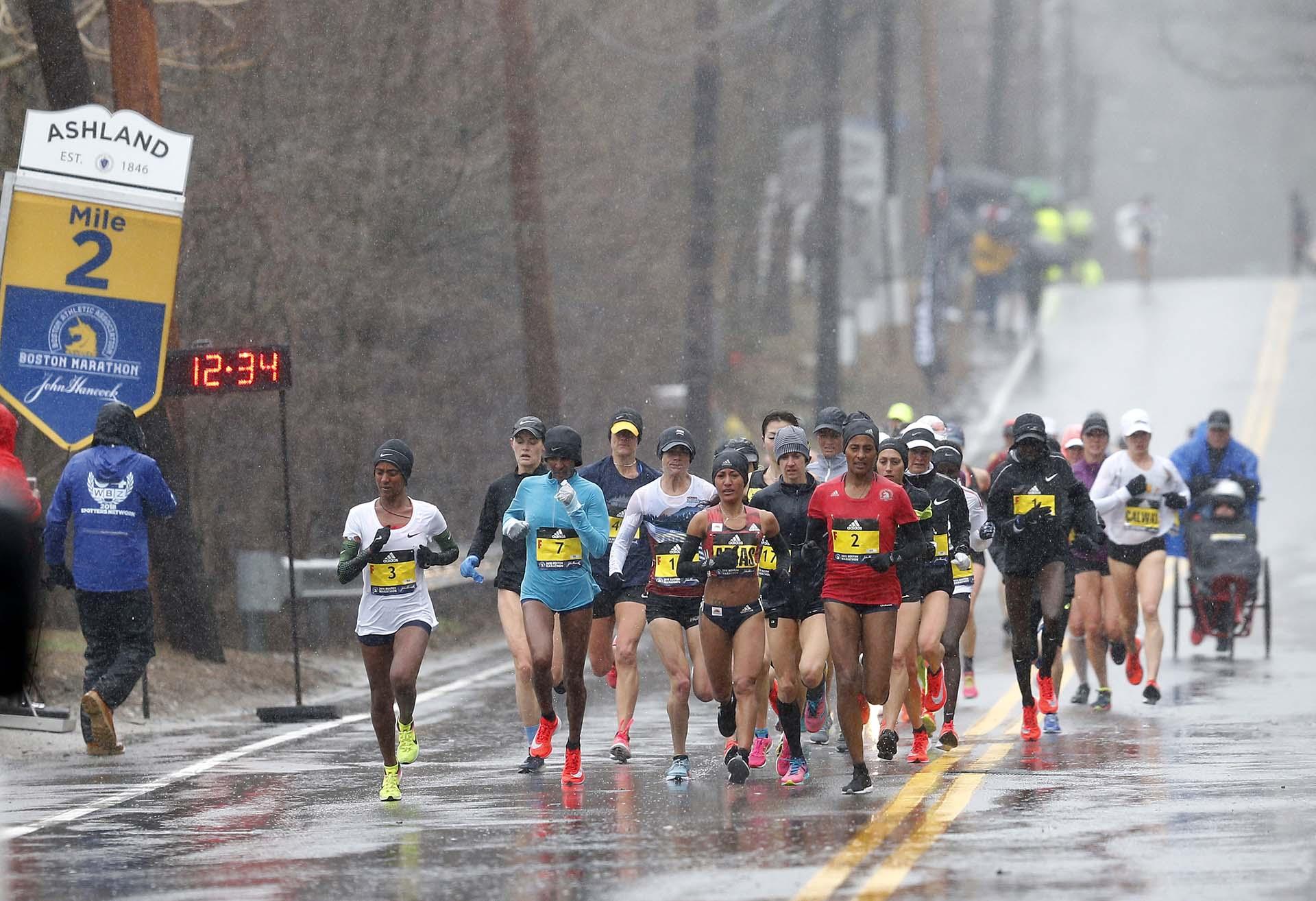 La otra atleta estadounidense que había conquistado esta maratón había sido Lisa Larsen, en 1985