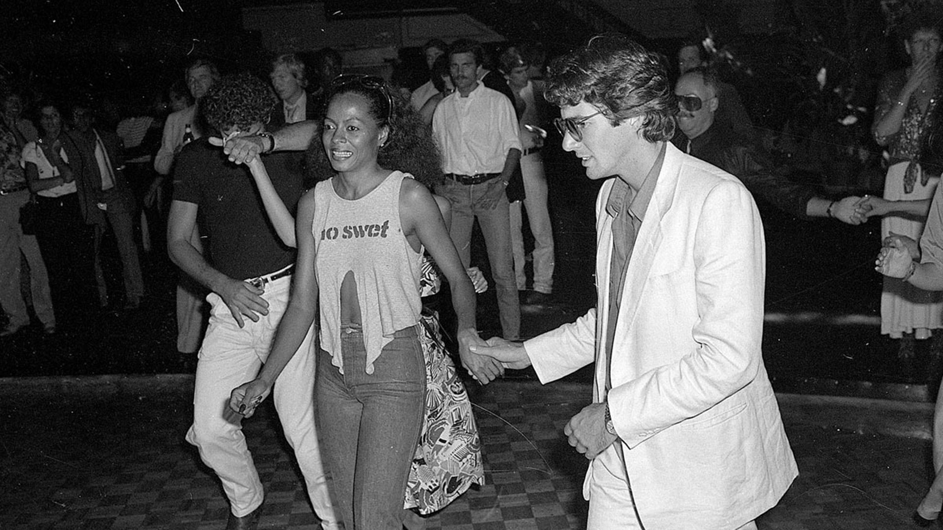 Richard y Diana Ross