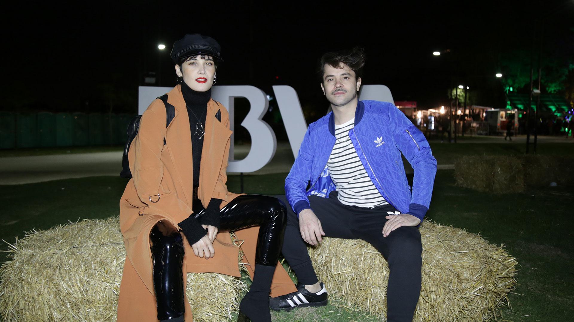 Florencia Torrente y Felipe colombo.
