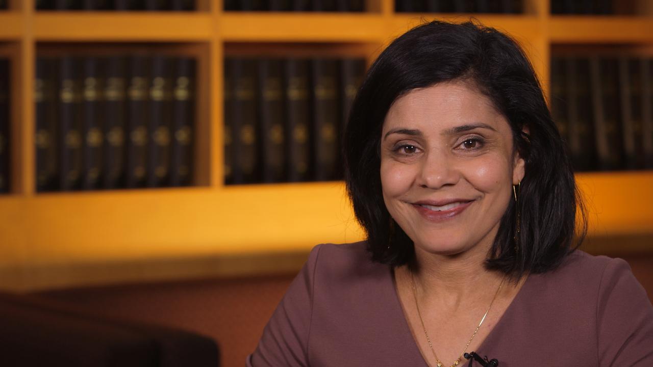Leena Gandhi, la médica que lideró al equipo de investigadores en todo el mundo (NYU Langone Health)