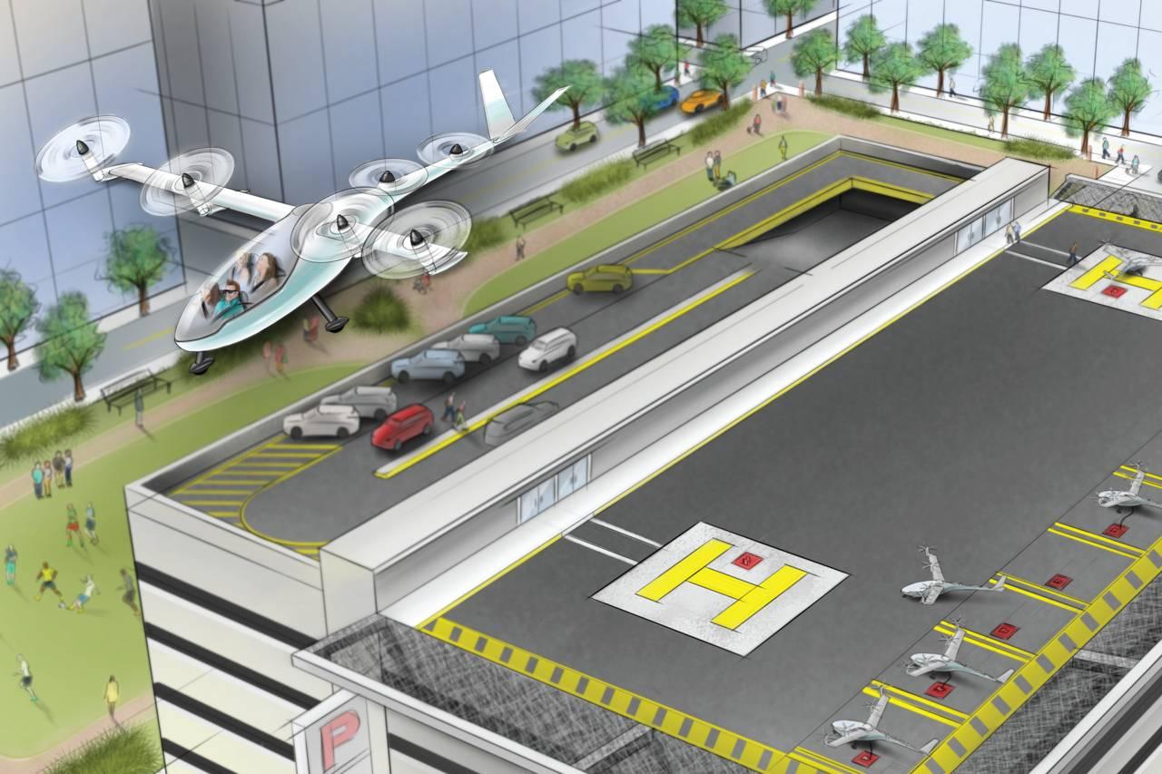 Uber anunció que en Los Angeles y Dallas/Fort Worth operará vehículos voladorescompartidoshacia 2023. (Uber)