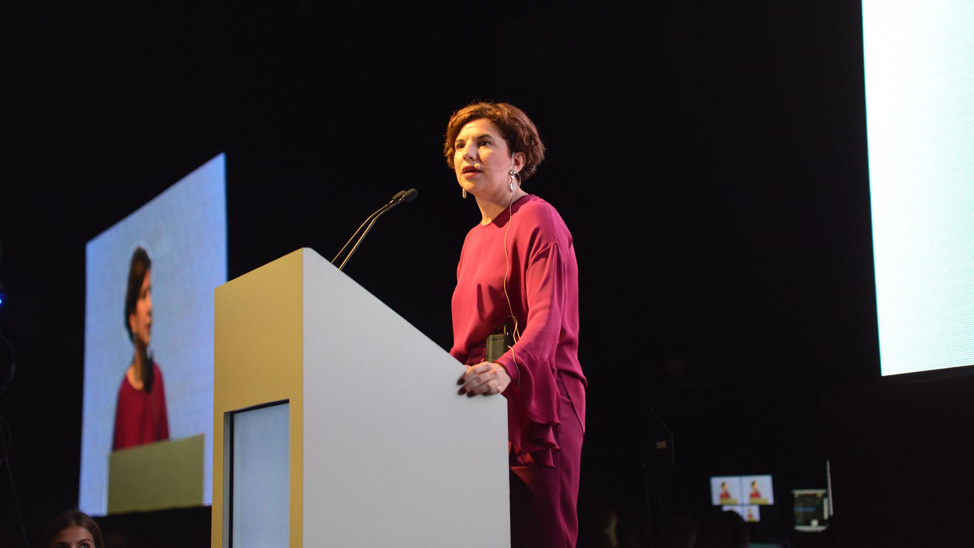 Julia Pomares, directora ejecutiva de CIPPEC