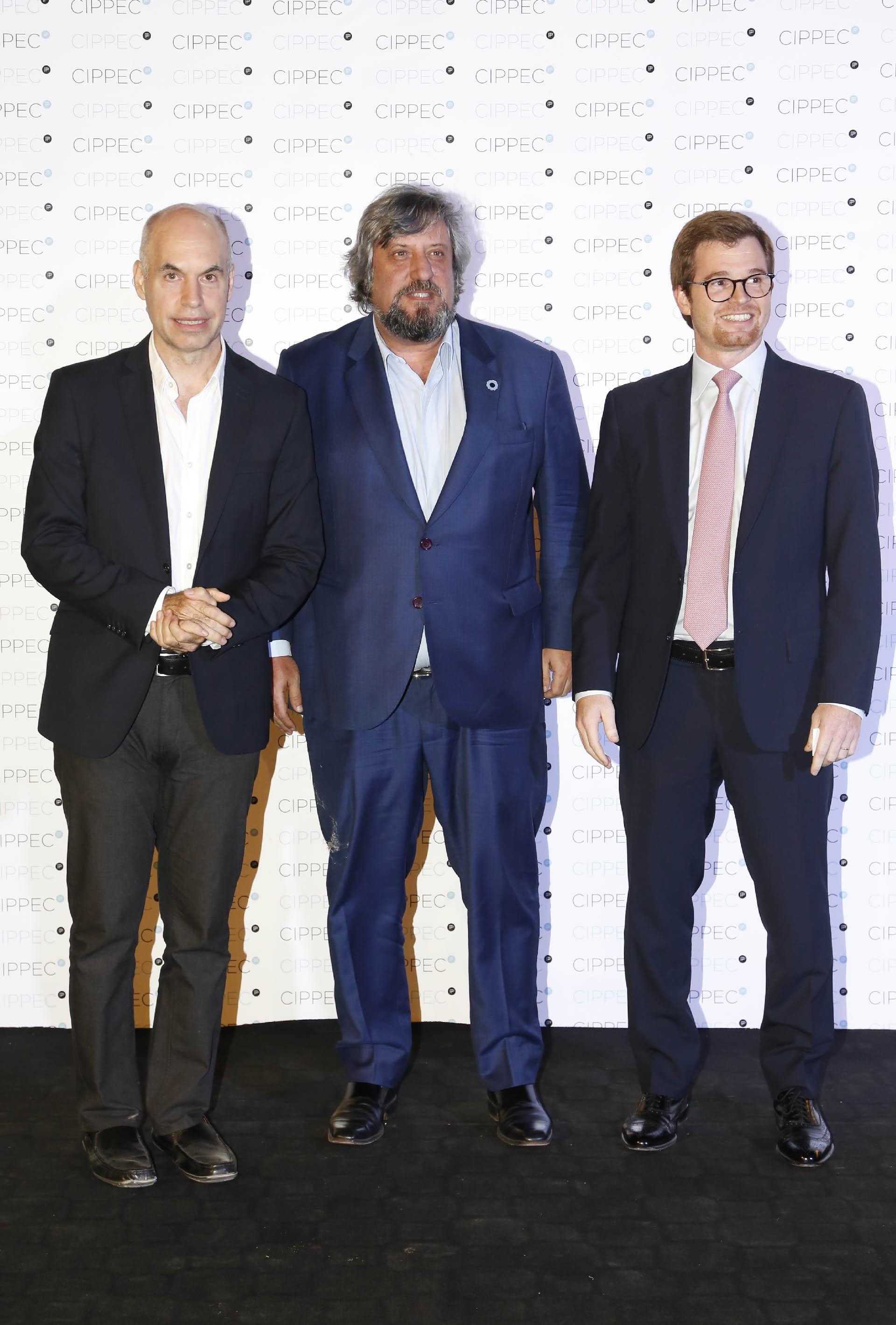 Horacio Rodríguez Larreta, Miguel De Godoy y Nicolás Massot
