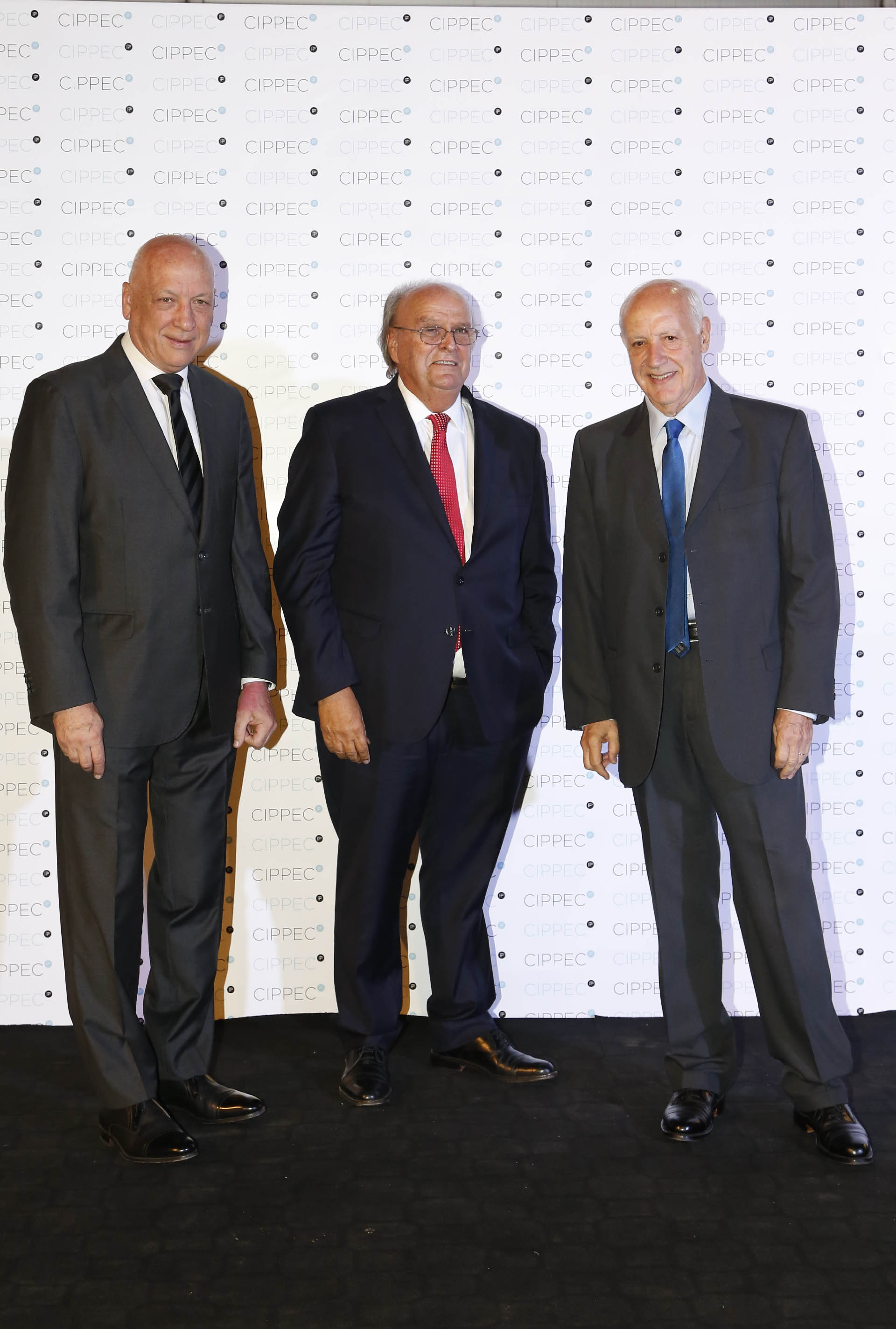 Antonio Bonfatti, el diputado José Ignacio de Mendiguren y Roberto Lavagna