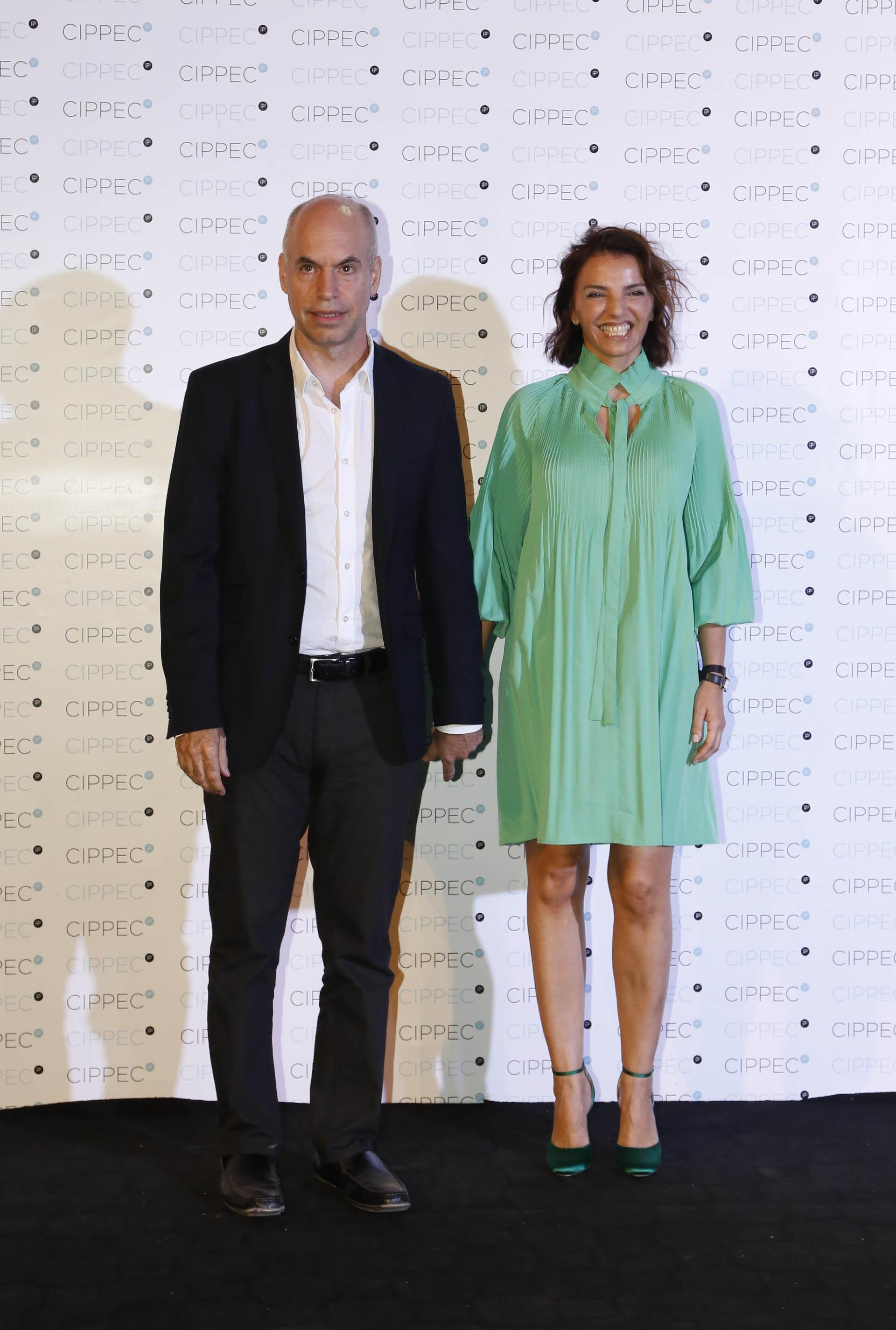 Horacio Rodríguez Larreta, jefe de Gobierno porteño, y su mujer Bárbara Diez