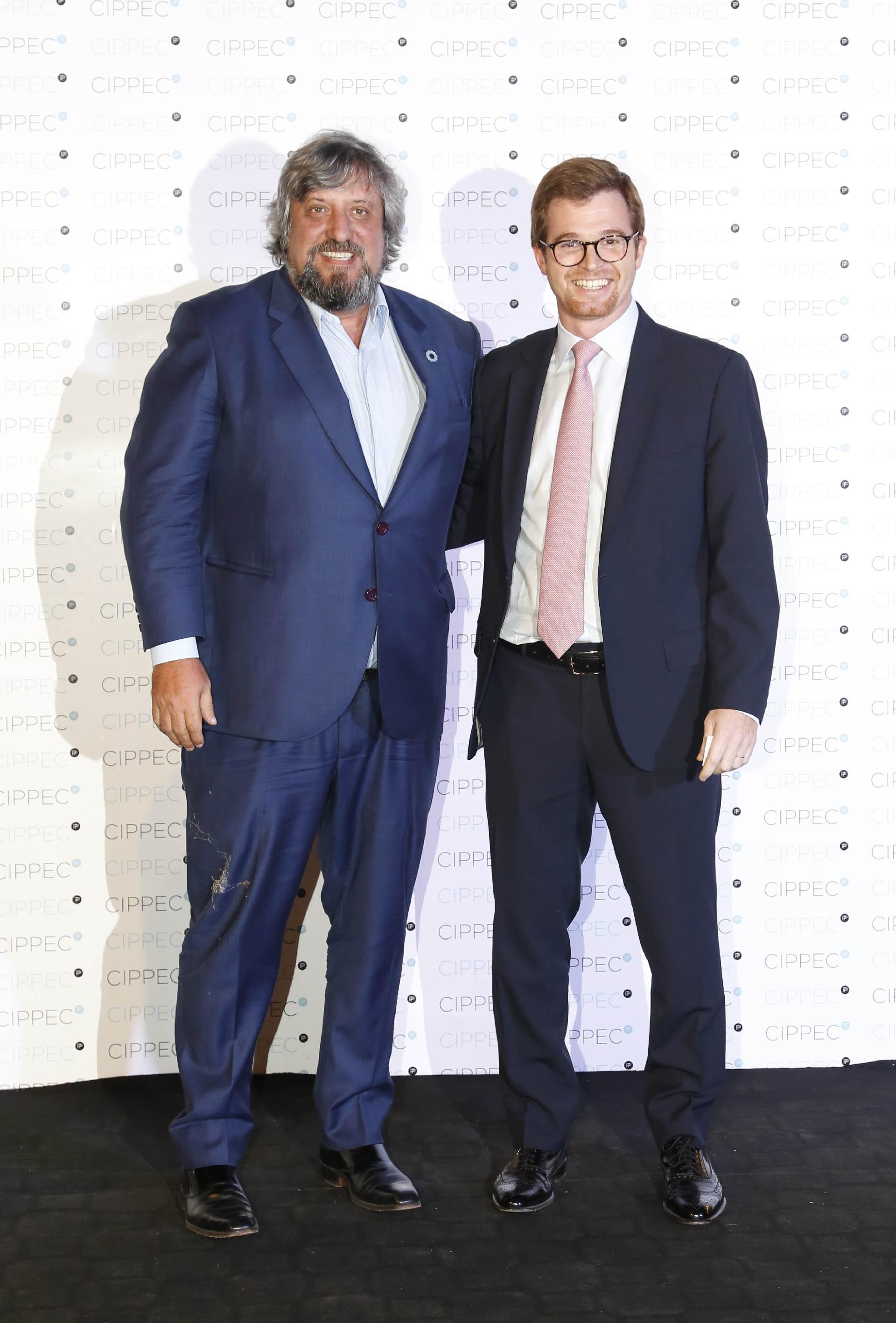Miguel De Godoy, presidente del Ente Nacional de Comunicaciones, y Nicolás Massot, presidente del Bloque PRO