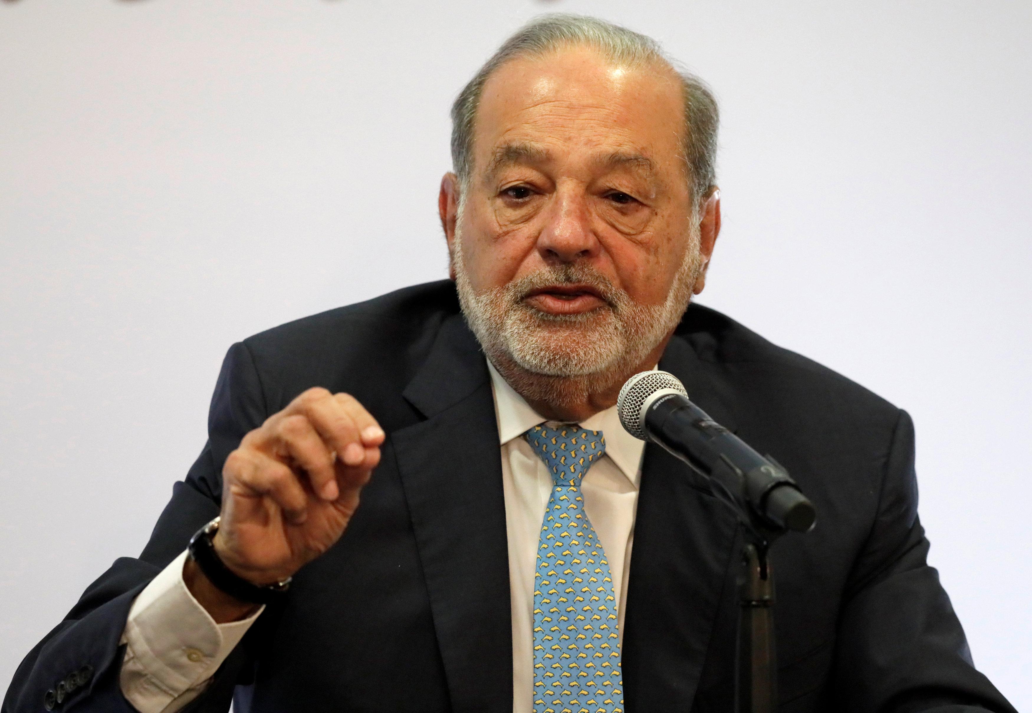 La empresa de Carlos Slim registró un aumento en el gasto por usuario durante el primer trimestre de 2019 ( Foto: Reuters/Henry Romero)