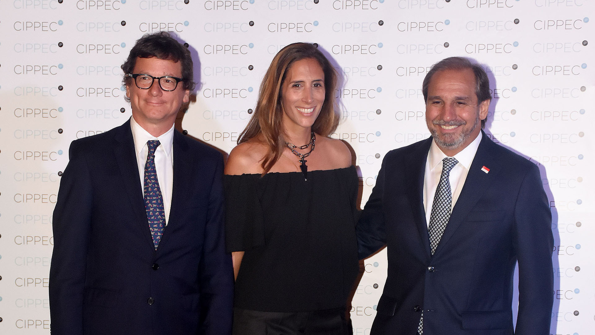 Gabriel Martino, de HSBC, y Nicolás Caputo