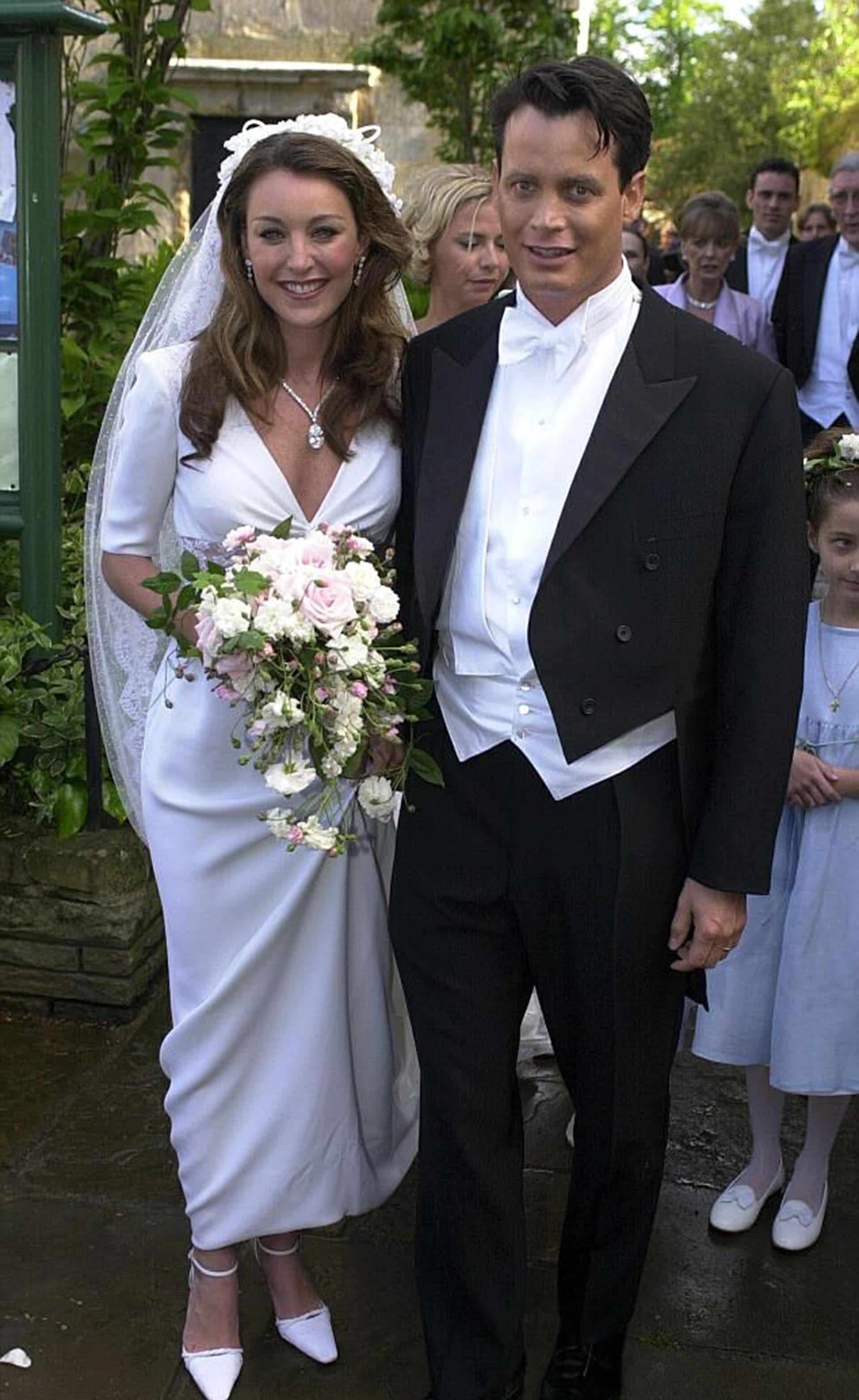 El día de su boda con la gurú de la moda Tamara Mellon