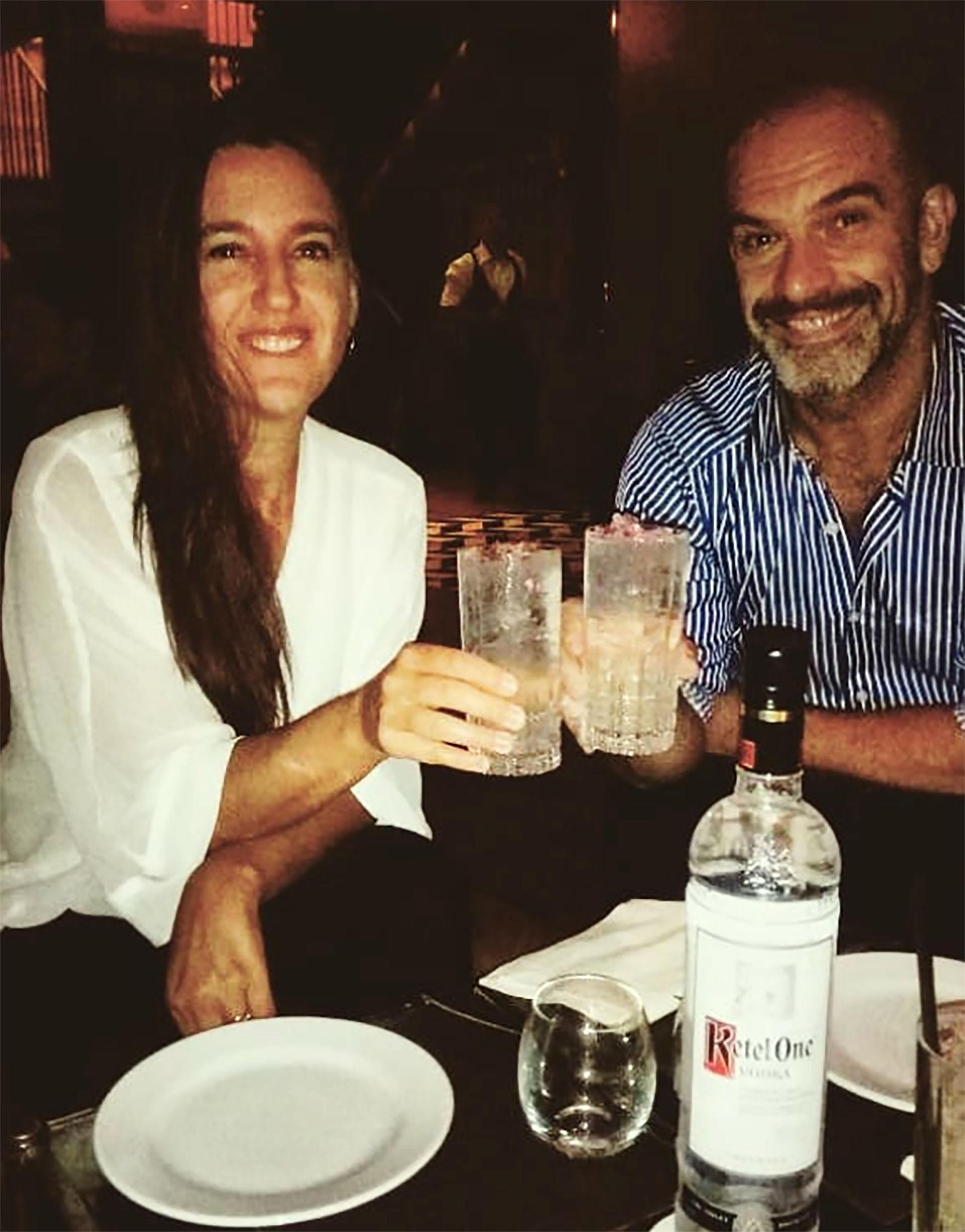 Nacho Goano y su mujer (Instagram)