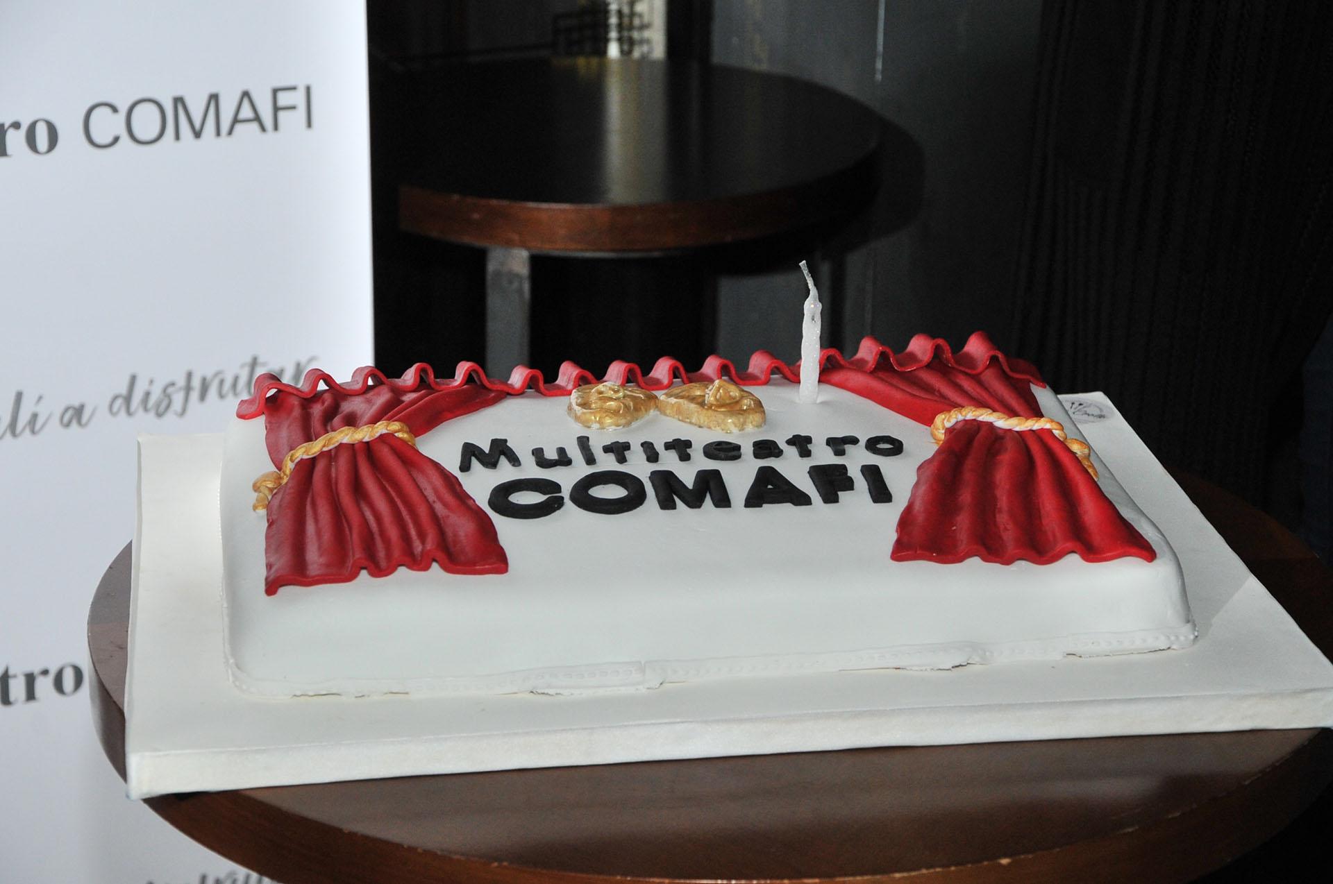 La torta de la celebración