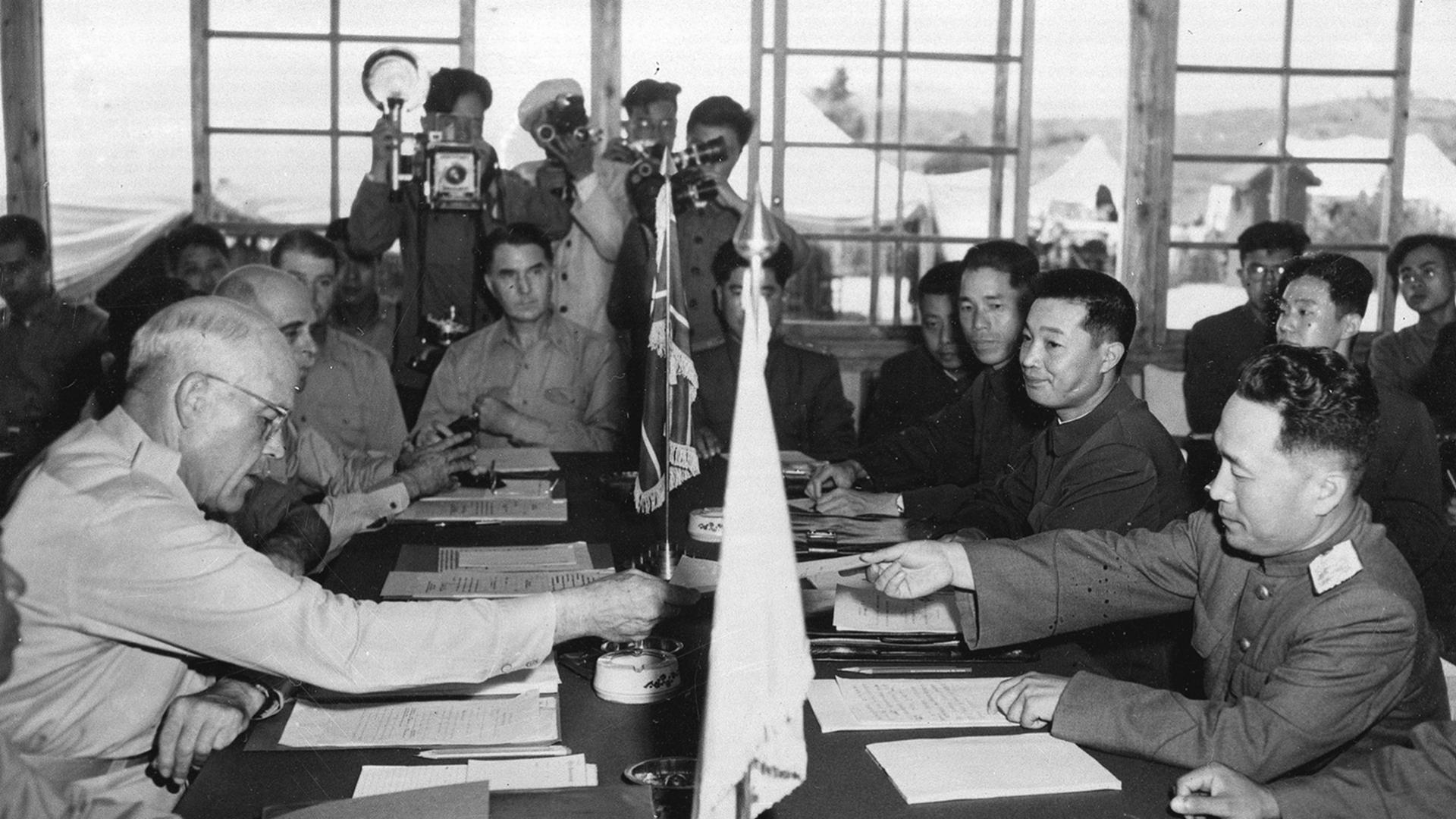 Resultado de imagen de ACUERDOS GUERRA COREA 1953