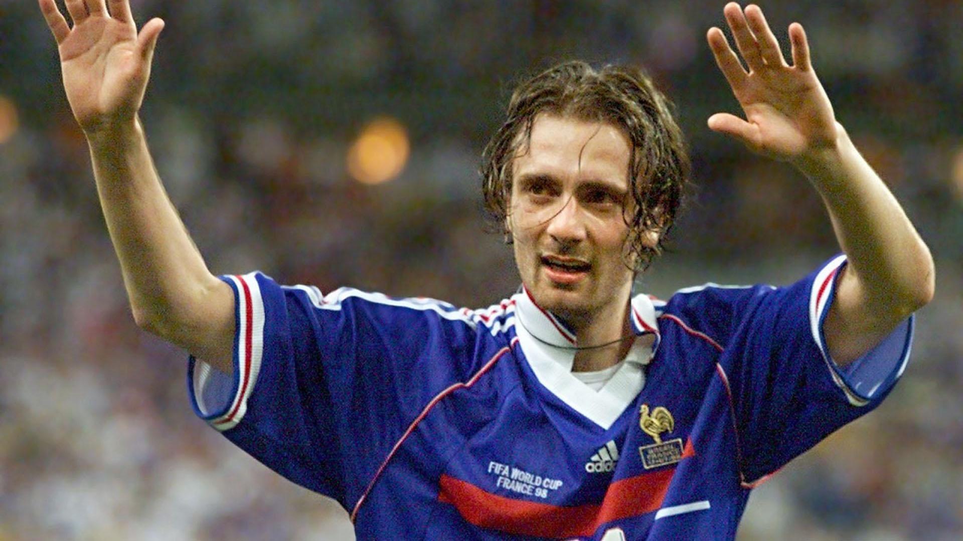 Dugarry fue campeón mundial en Francia 98