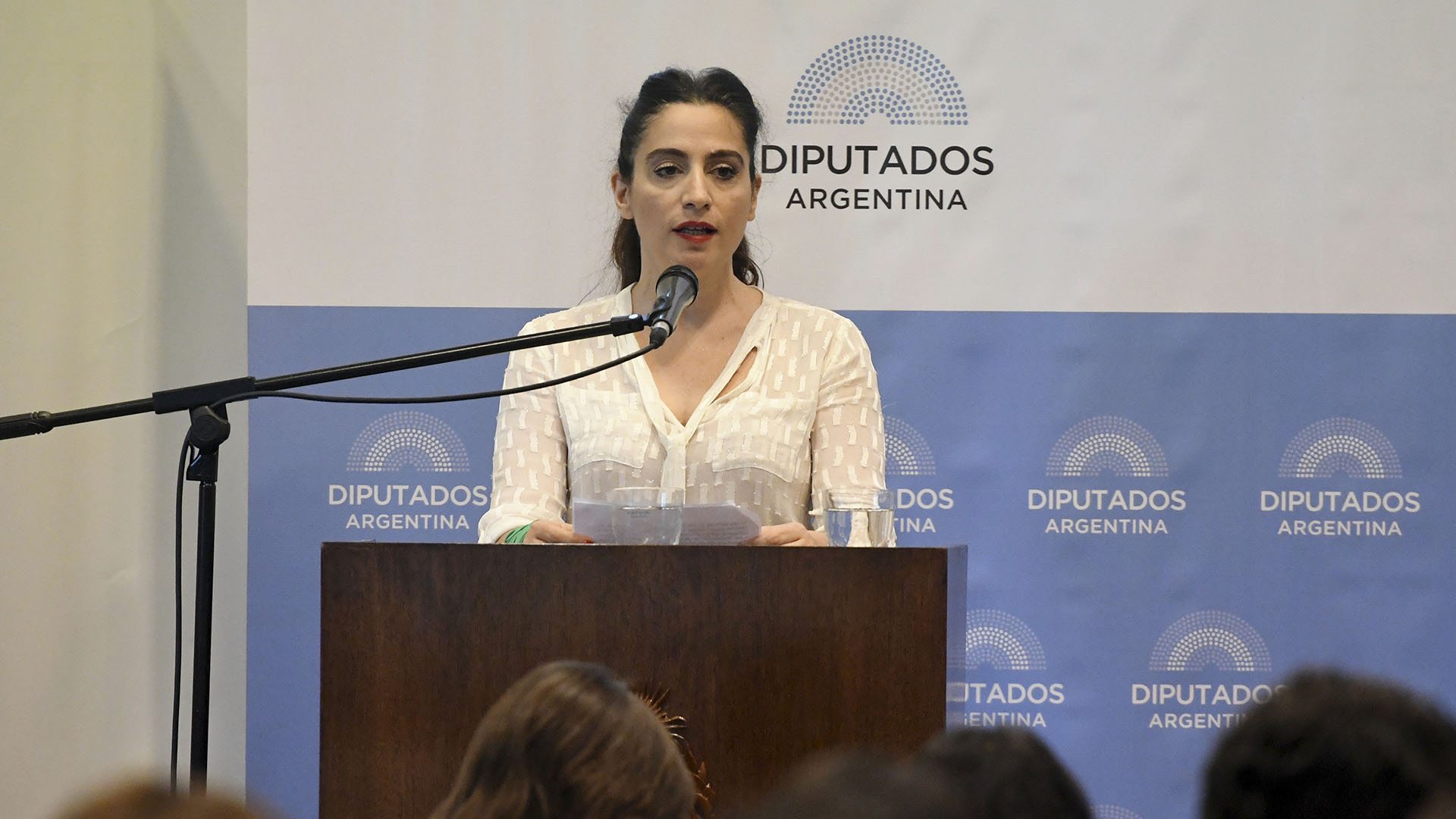 Muriel Santa Ana (Télam)