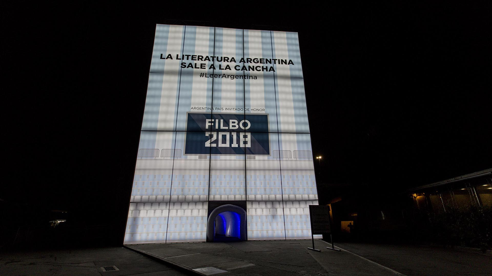 Stand argentino en la Filbo