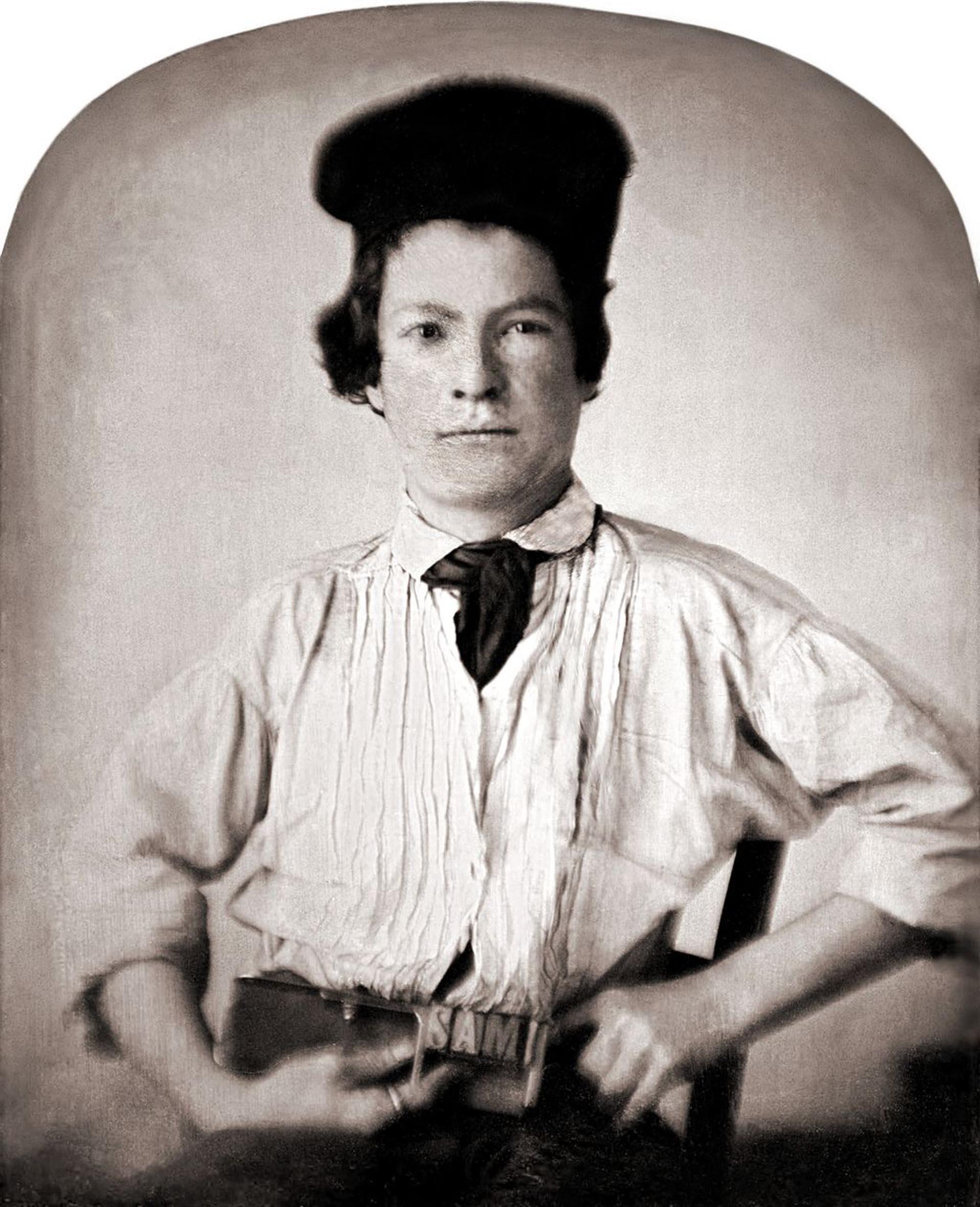 Mark Twain a los 11 años