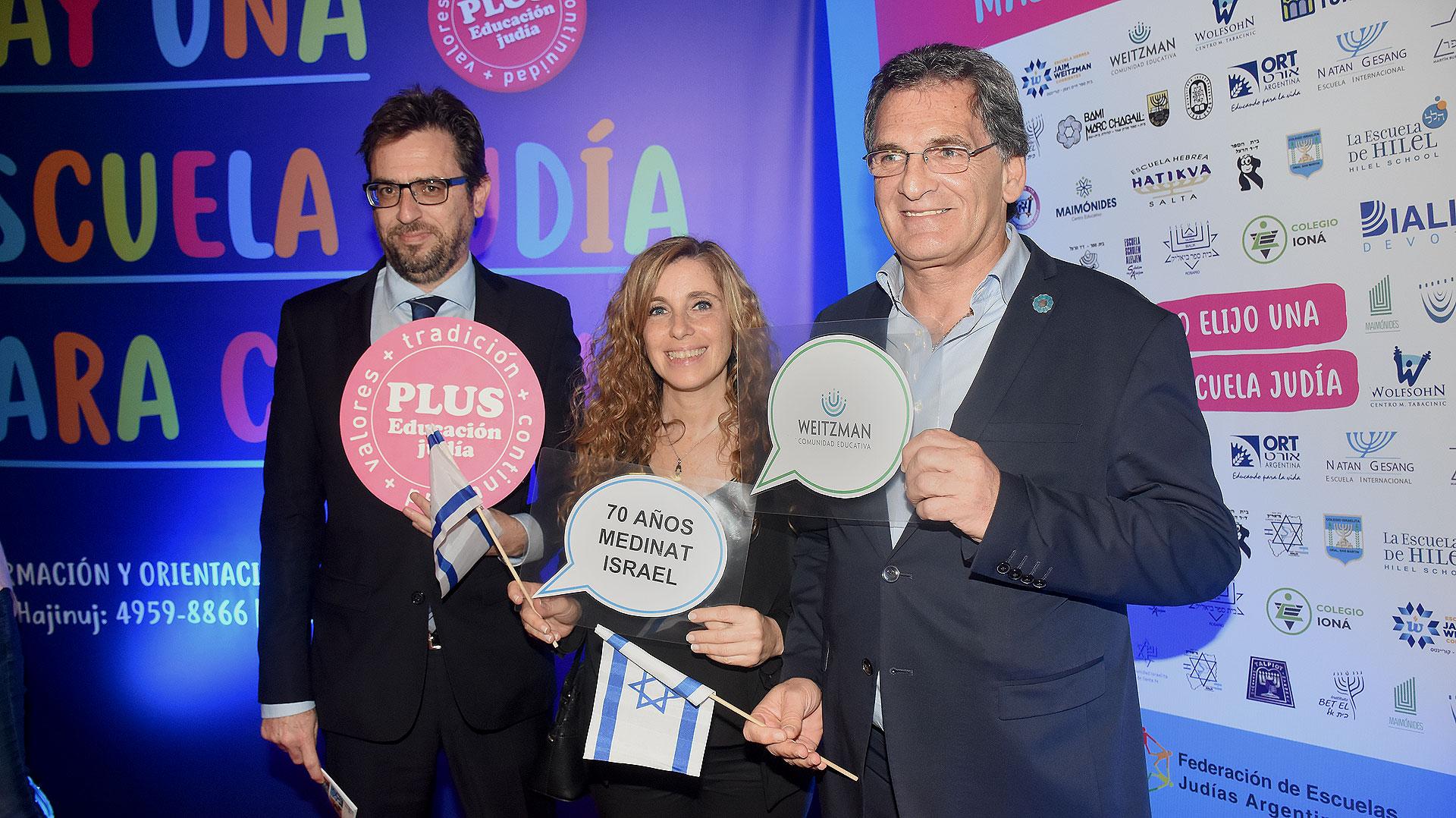 Claudio Avruj, secretario de Derechos Humanos y Pluralismo Cultural (derecha)
