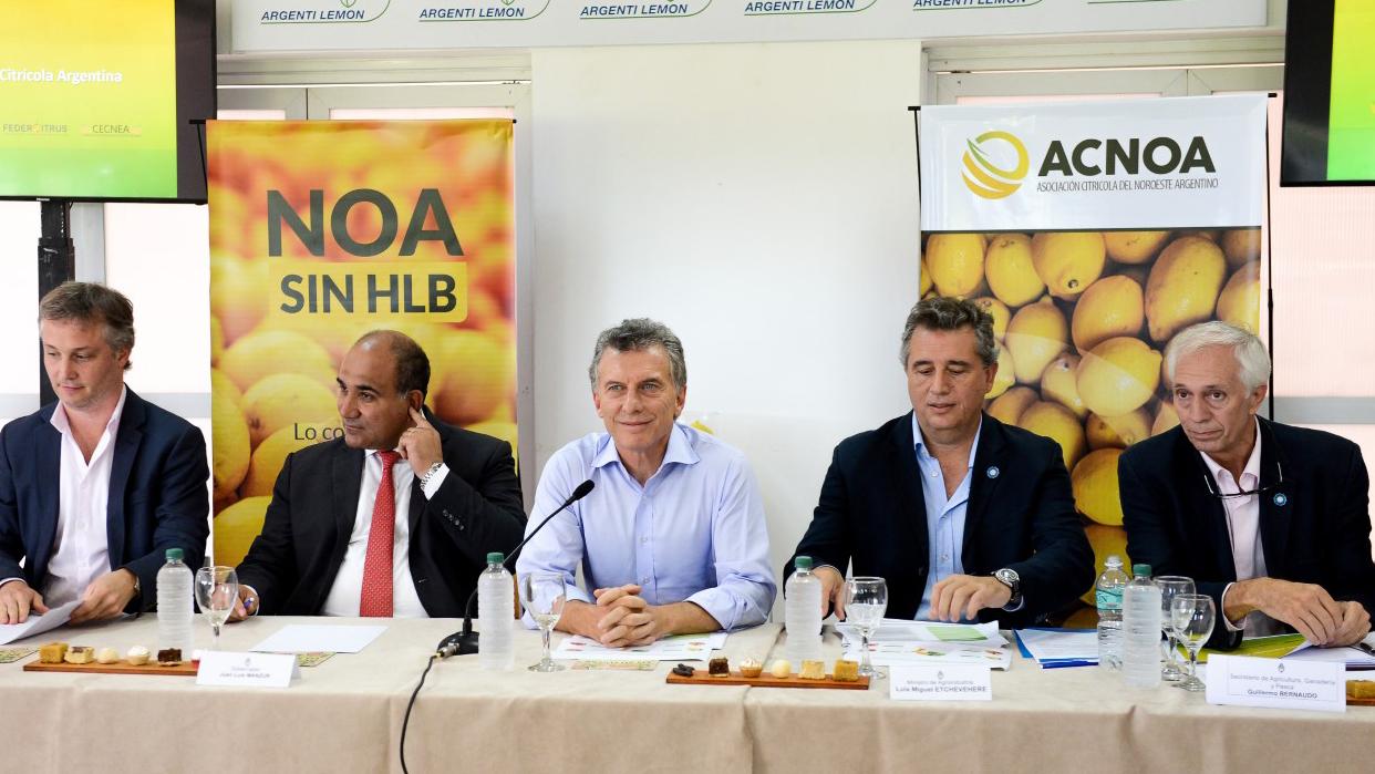 Se realizó el segundo encuentro de la Mesa Nacional Citrícola. En sesenta días se vuelven a reunir en Casa Rosada