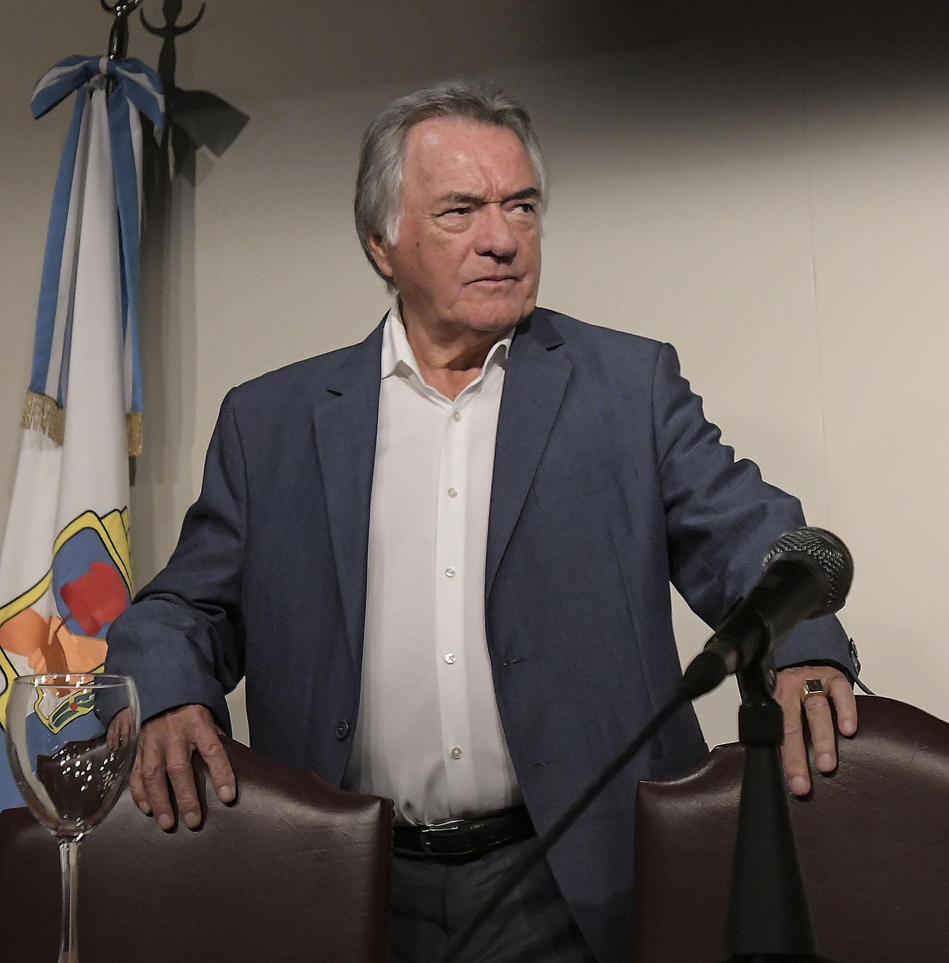 Luis Barrionuevo, interventor del PJ