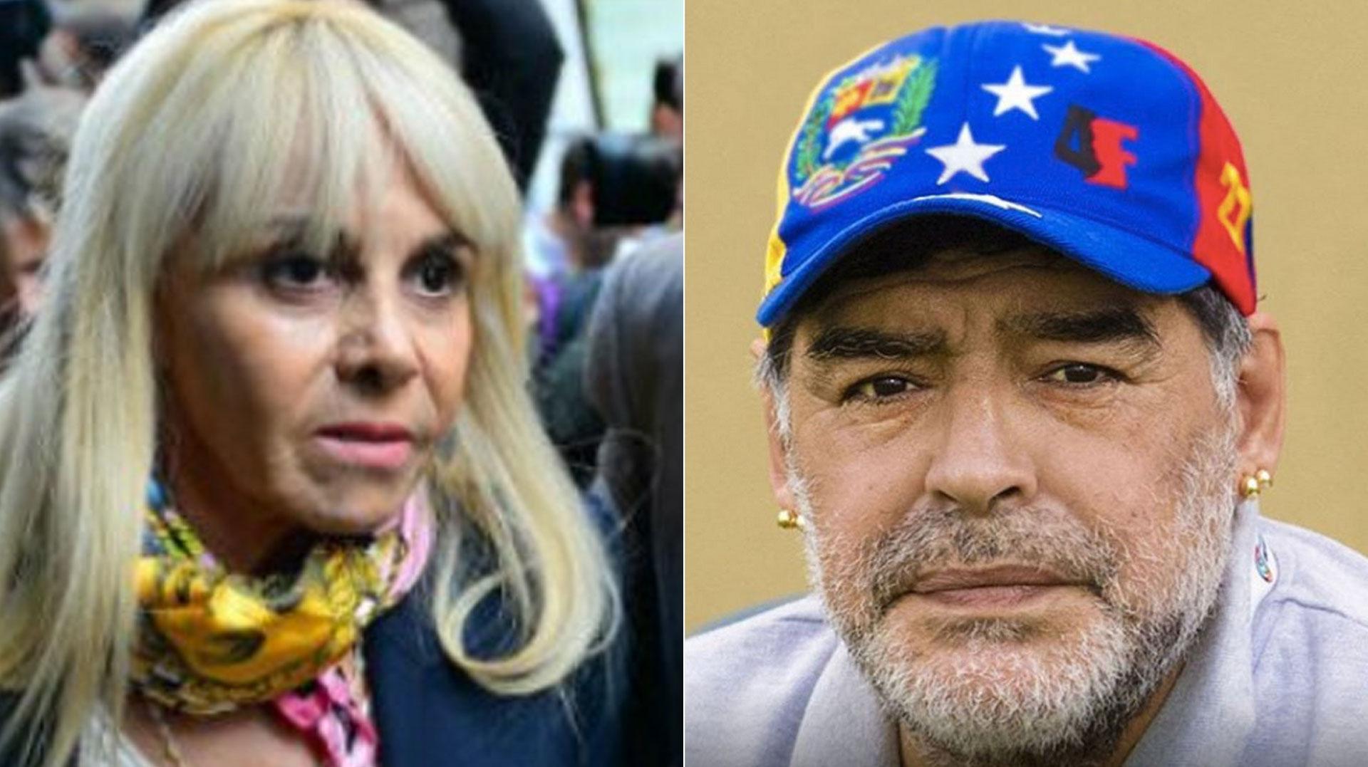 Claudia Villafañe anunció que denuncia por daños y perjuicios a Diego Maradona y Matías Morla. La mamá de Dalma y Gianinna se cansó de que su ex la acusara de una estafa millonaria