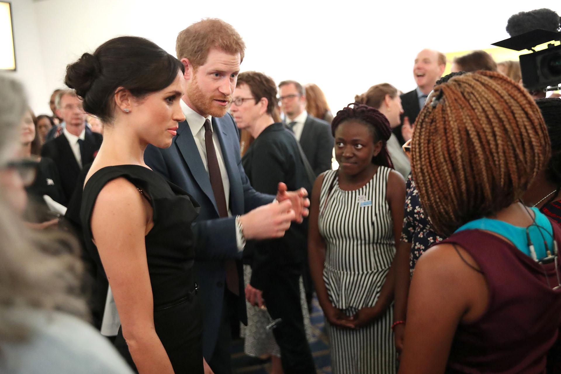 """Meghan Markle y el príncipe Harry asistieron juntos al evento """"Women's Empowerment"""", que se llevó a cabo en Londres"""