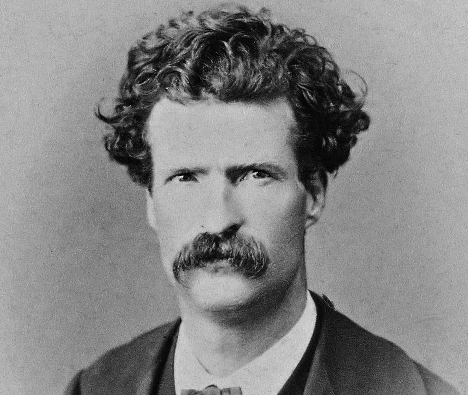 Samuel Langhorne Clemens en septiembre de 1867