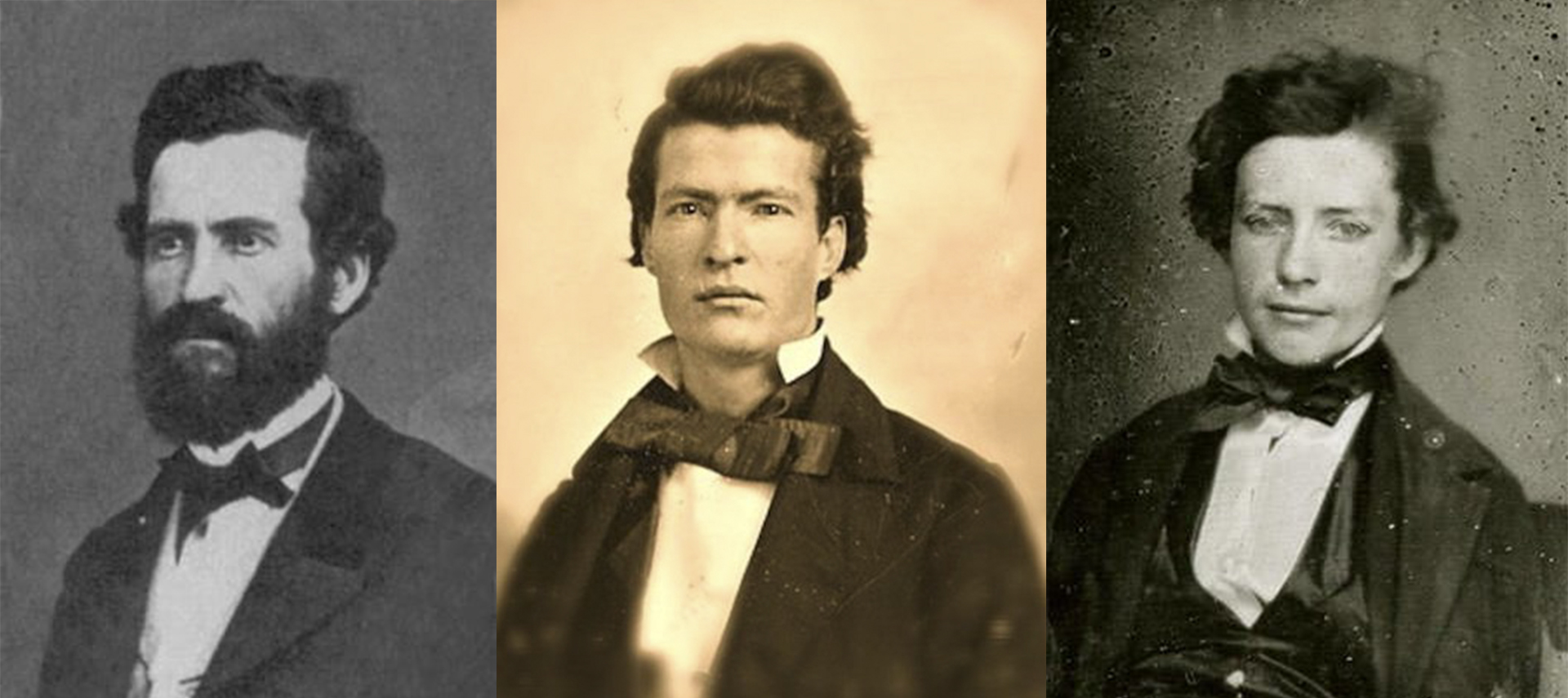 Los hermanos Twain: Orión, Samuel y Henry