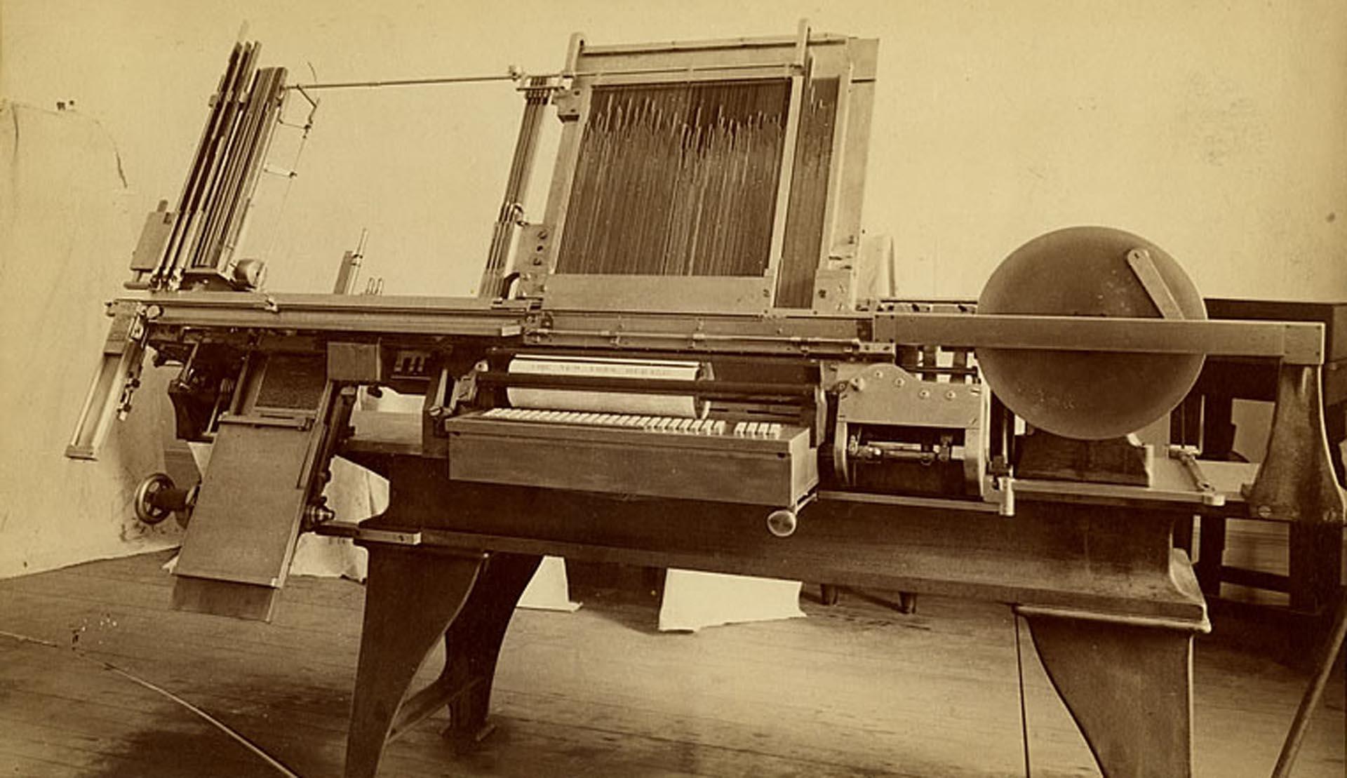 Twain invirtió una fortuna en la máquina para sustituir el tipógrafo de James W. Paige, pero falló