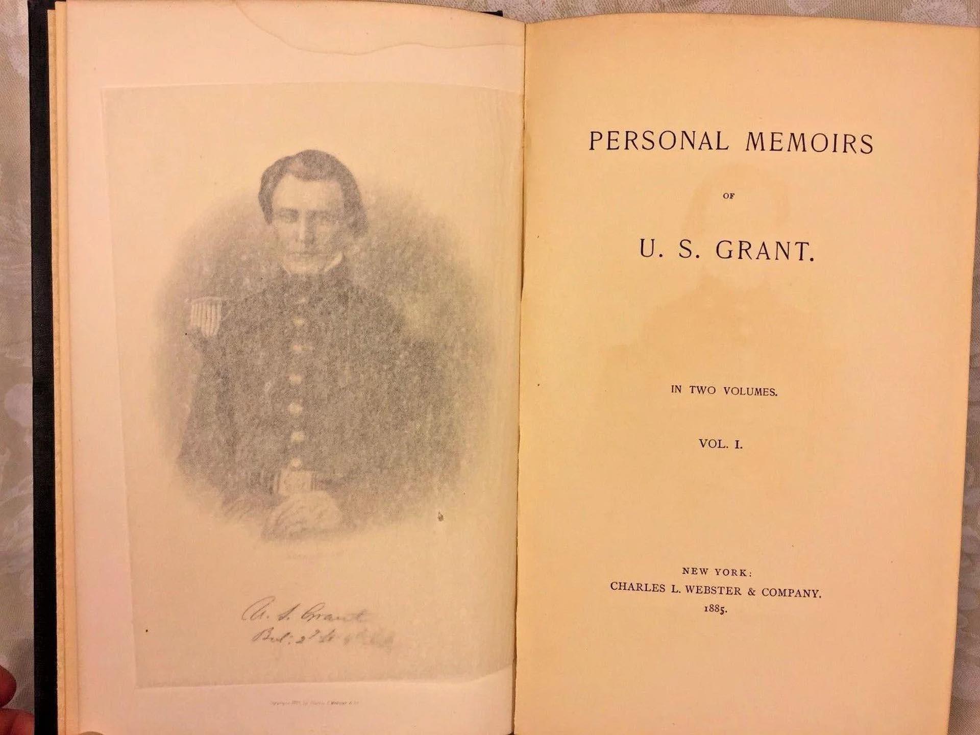Las memorias de Ulises Grant fueron un éxito de ventas