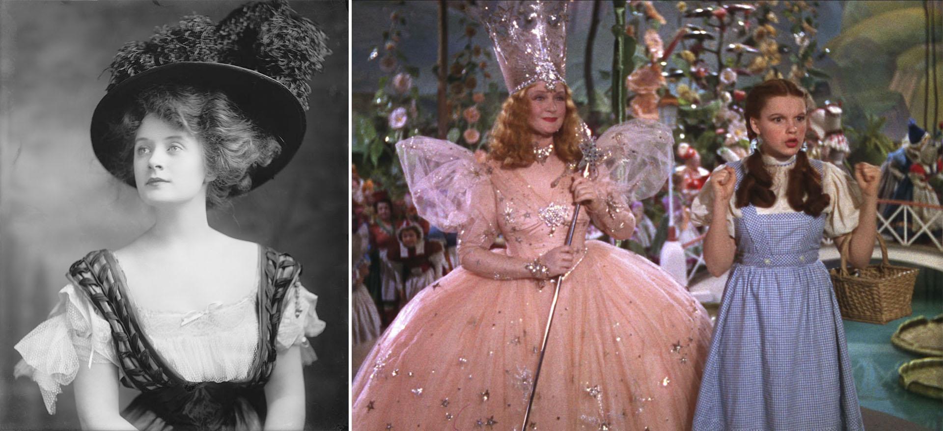"""Billy Burke en su época de Broadway y en """"El Mago de Oz"""""""